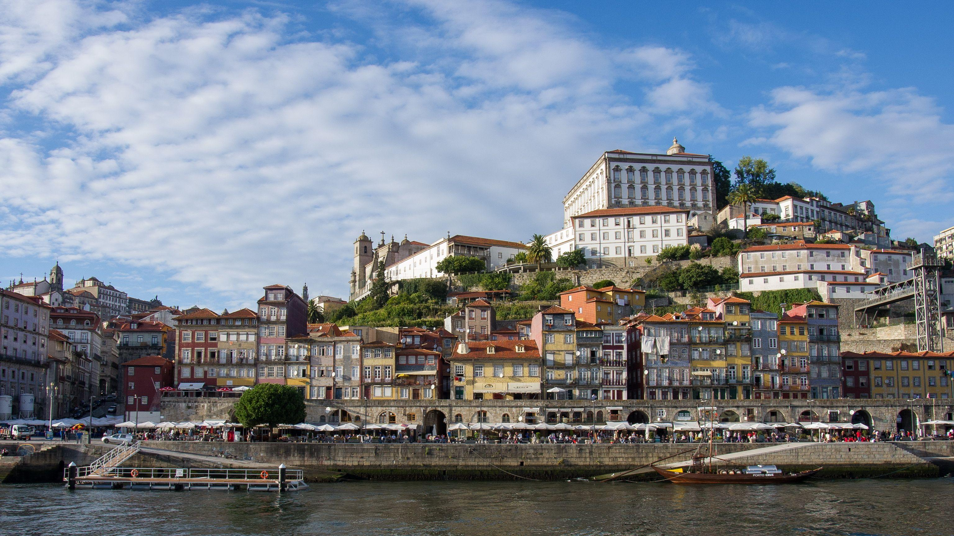 Portugal Houses Porto Cities wallpapers