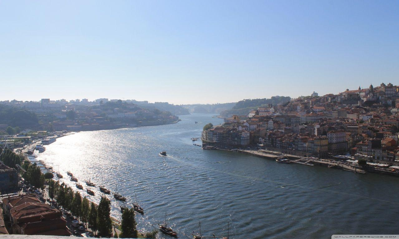The view of Porto HD desktop wallpaper : High Definition : Mobile