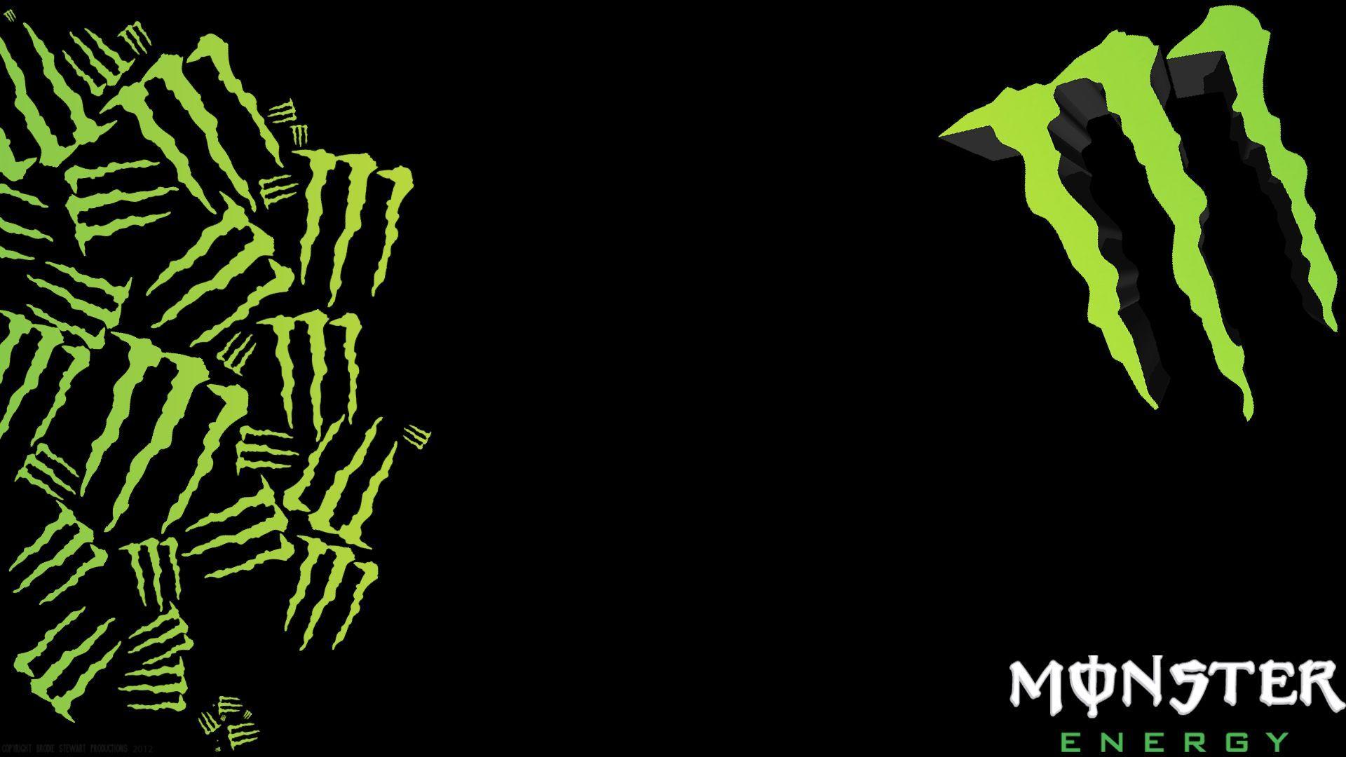 Blue Monster Energy Logo Wallpaper - WallpaperSafari