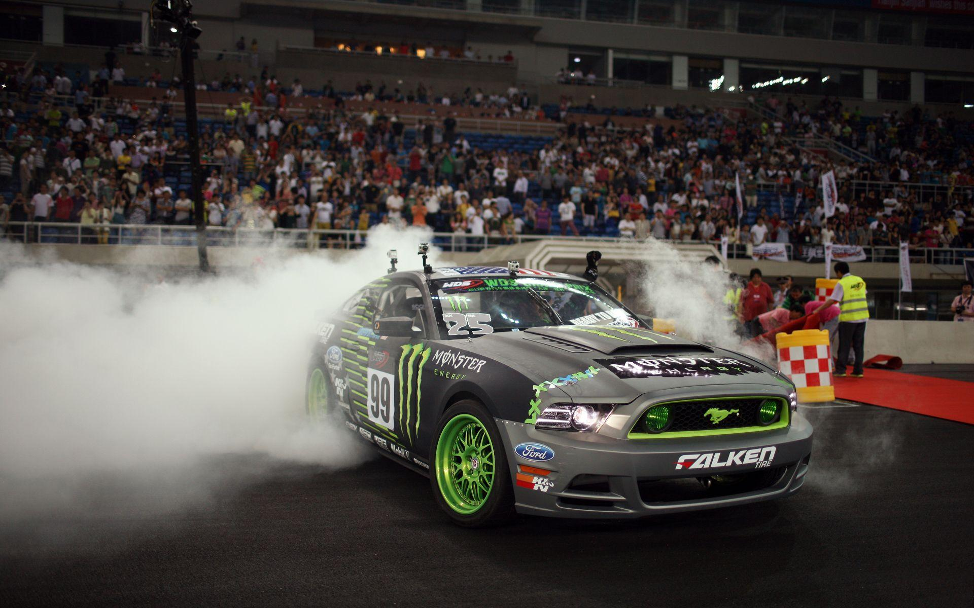 Ford Mustang Monster Energy Wallpaper | HD Car Wallpapers