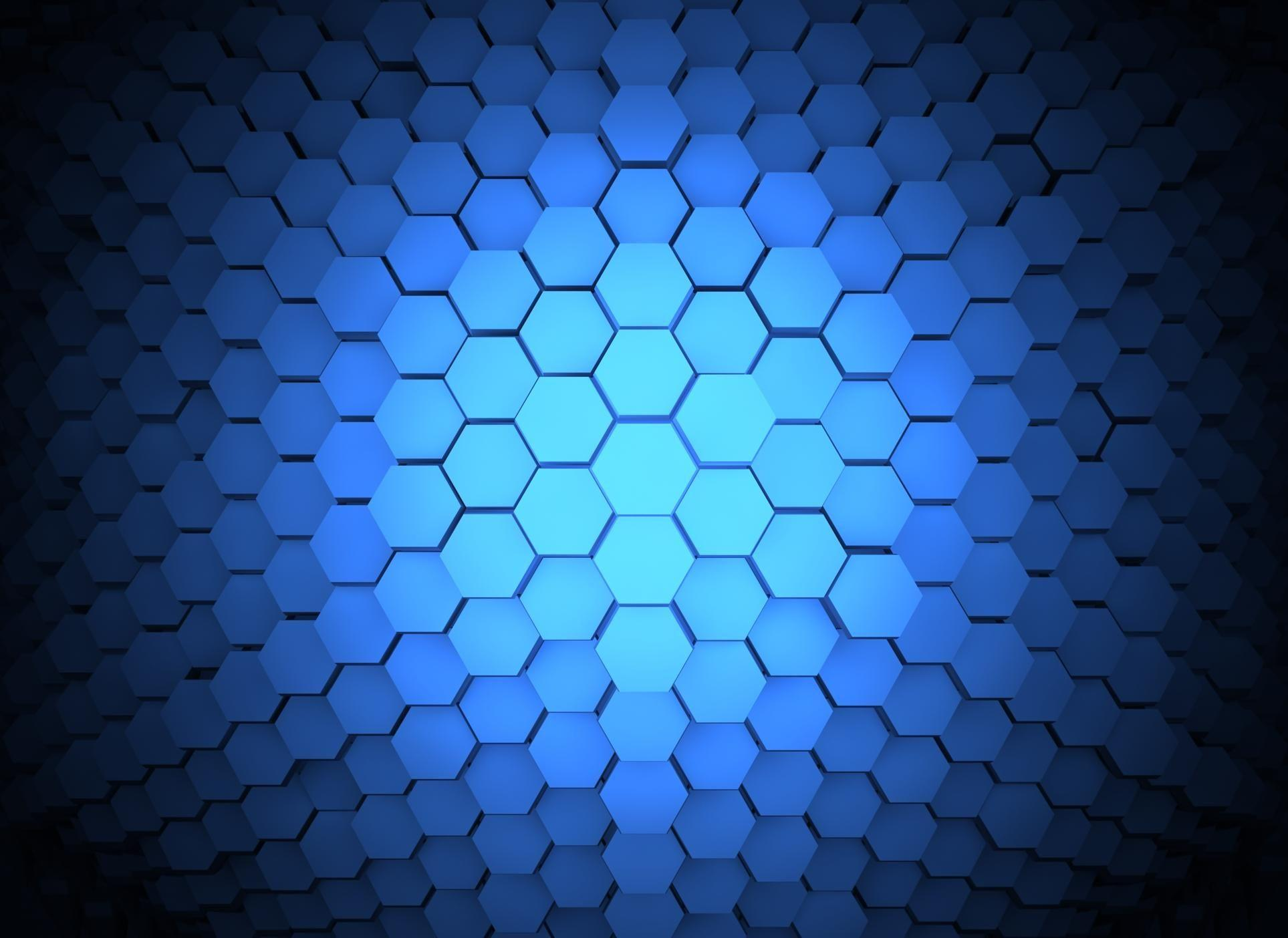 In Gallery: Blue Hexagon Wallpaper, 37 Blue Hexagon HD Wallpapers ...