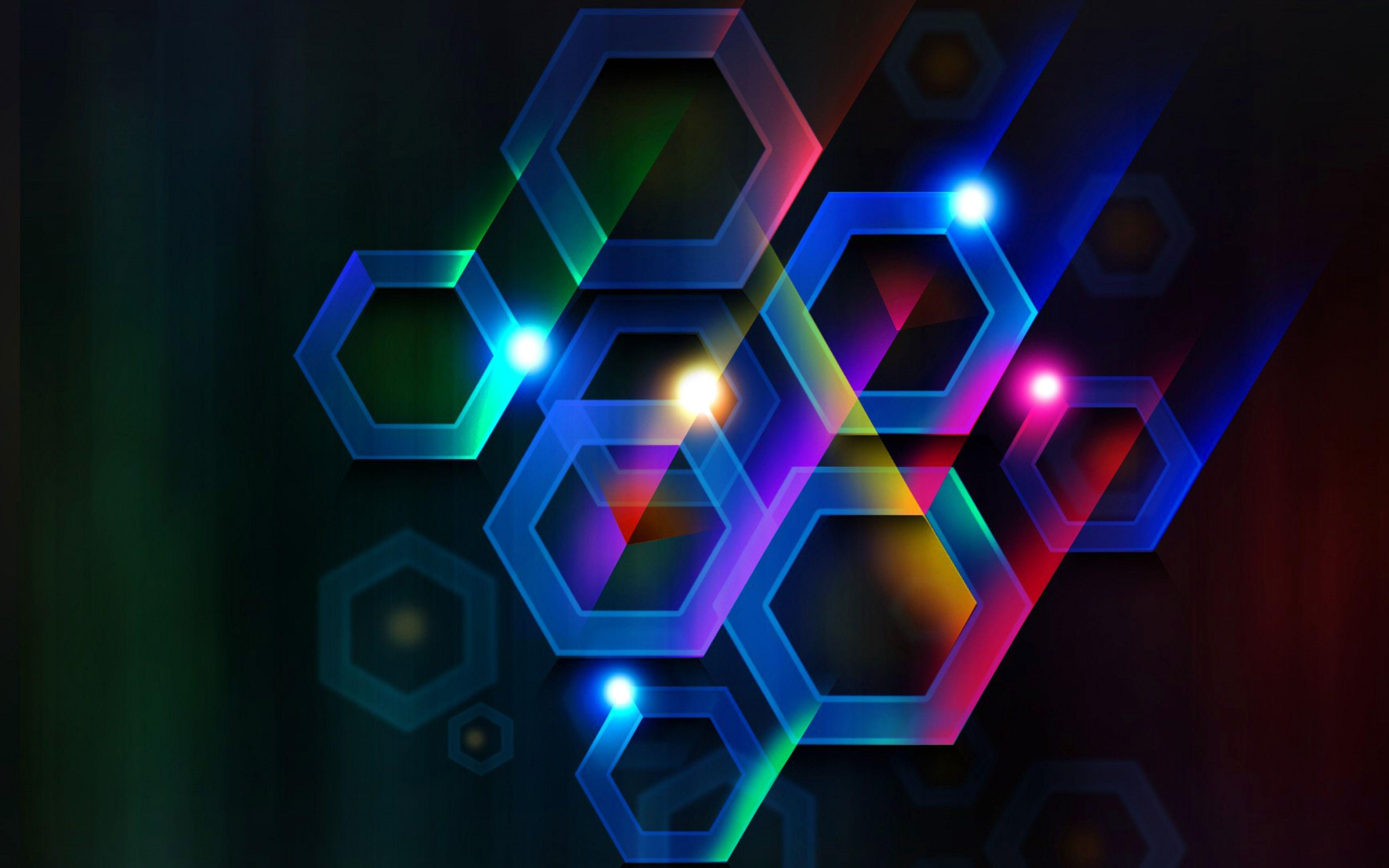 Ultra HD 4K Hexagon Wallpapers HD, Desktop Backgrounds 3840x2400 ...