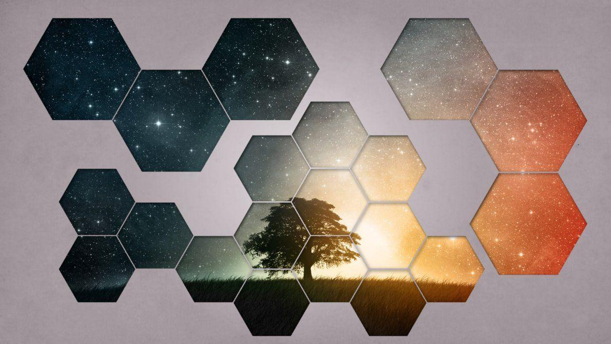 Hexagon Wallpaper by Misterio7x on DeviantArt