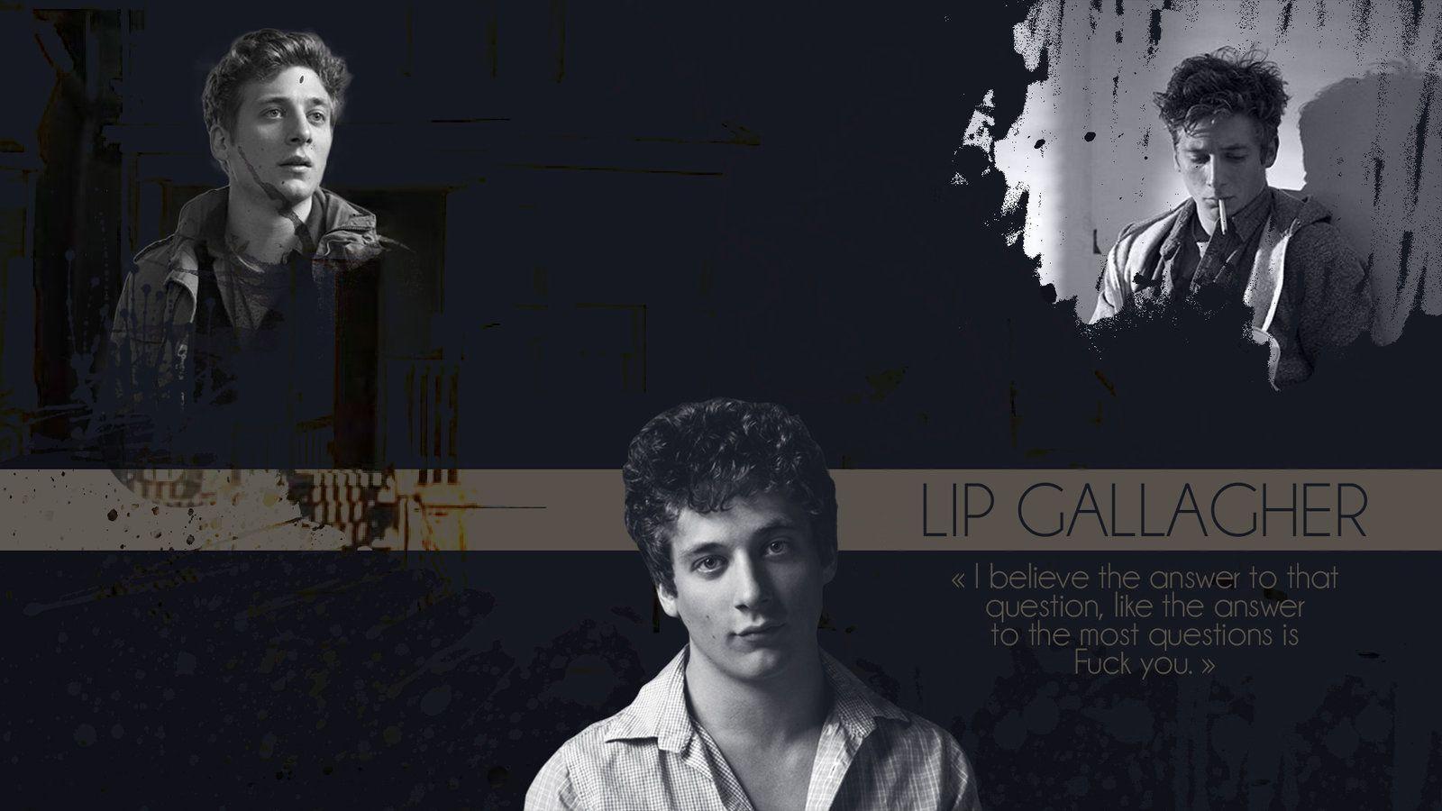 Lip Gallagher - Shameless US (Wallpaper) by Kishigani.deviantart ...