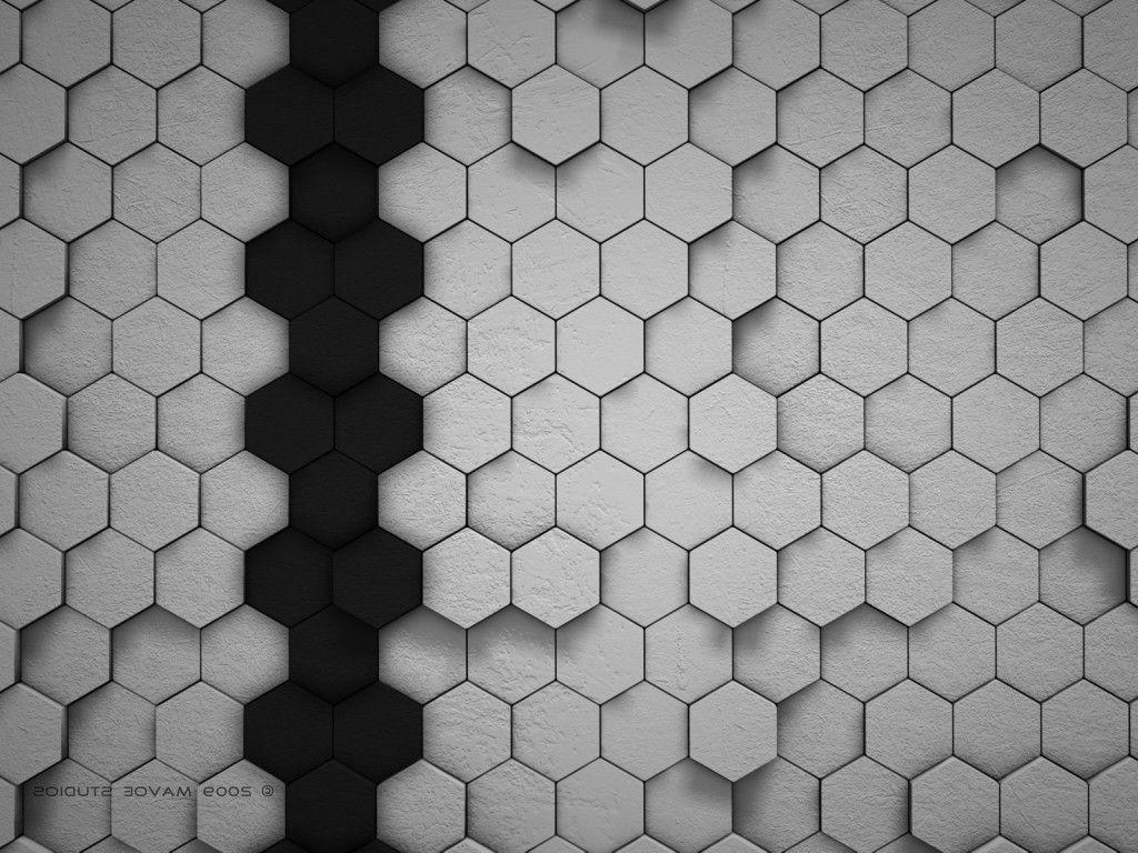digital Art, Hexagon Wallpapers HD / Desktop and Mobile Backgrounds