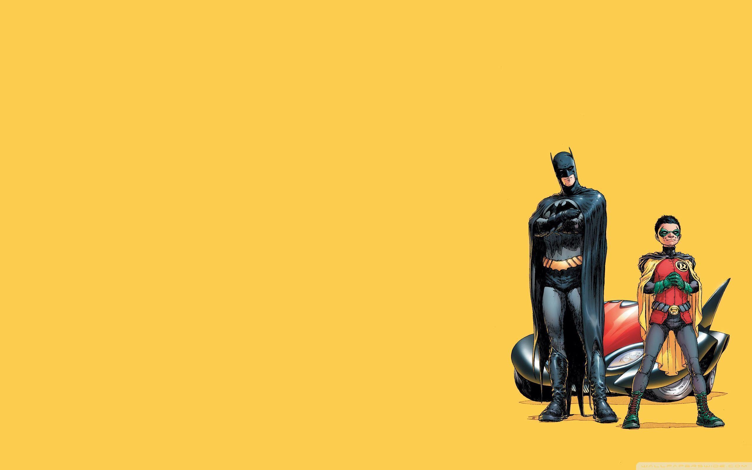 Batman And Robin Cartoon HD desktop wallpaper : High Definition ...