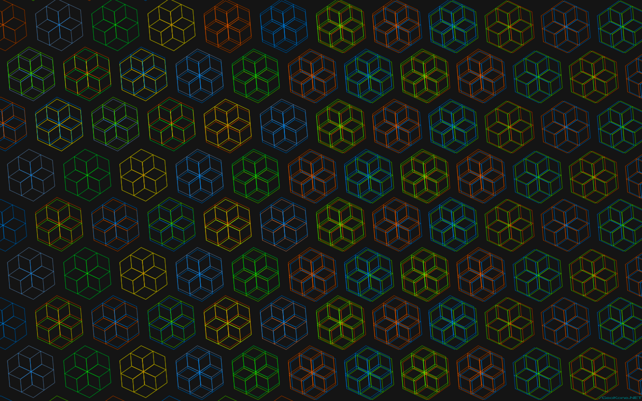 PsiTriangle.NET :: Gallery: Wallpapers » Hexagon Backgrounds ...
