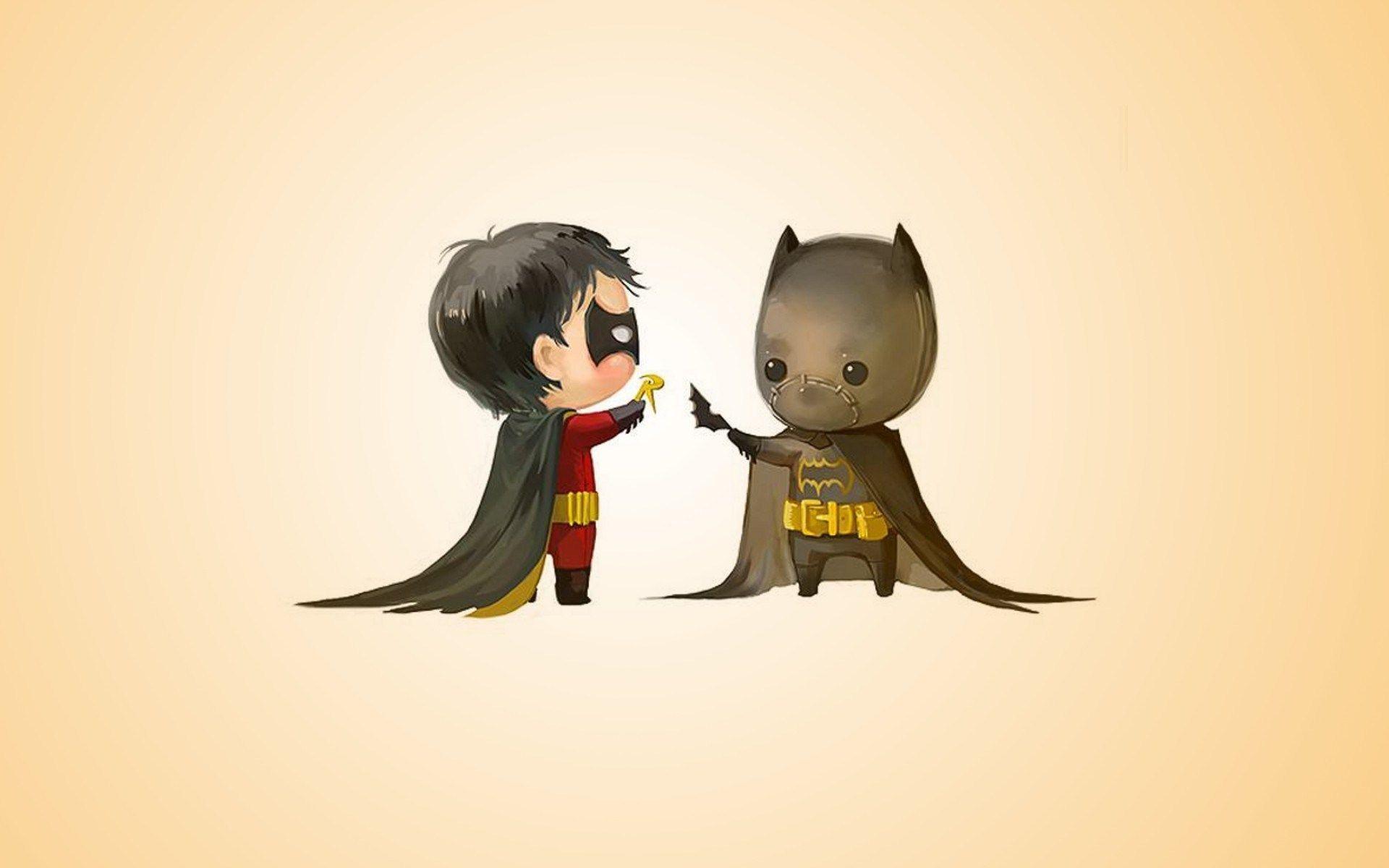 Batman and Robin Wallpaper HD - WallpaperSafari