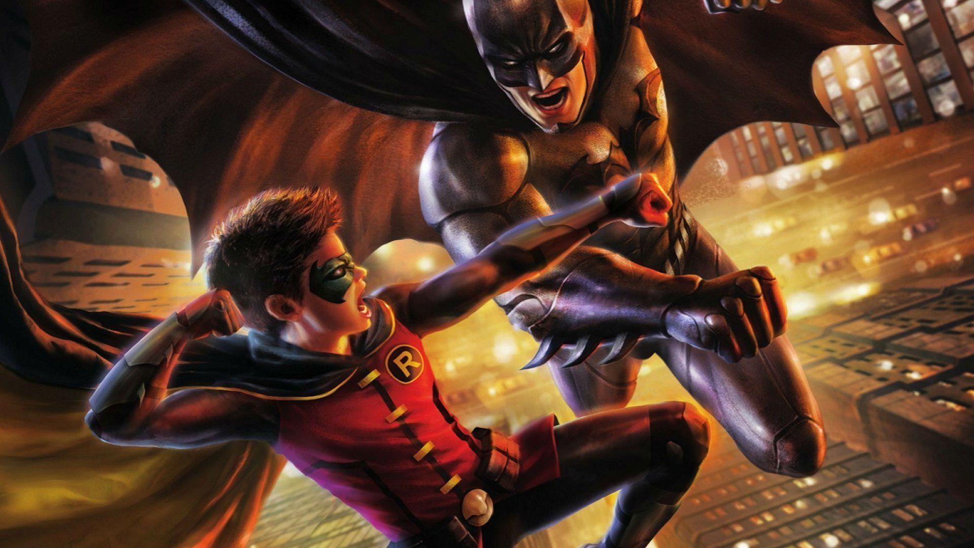 2 Batman Vs. Robin HD Wallpapers | Backgrounds - Wallpaper Abyss