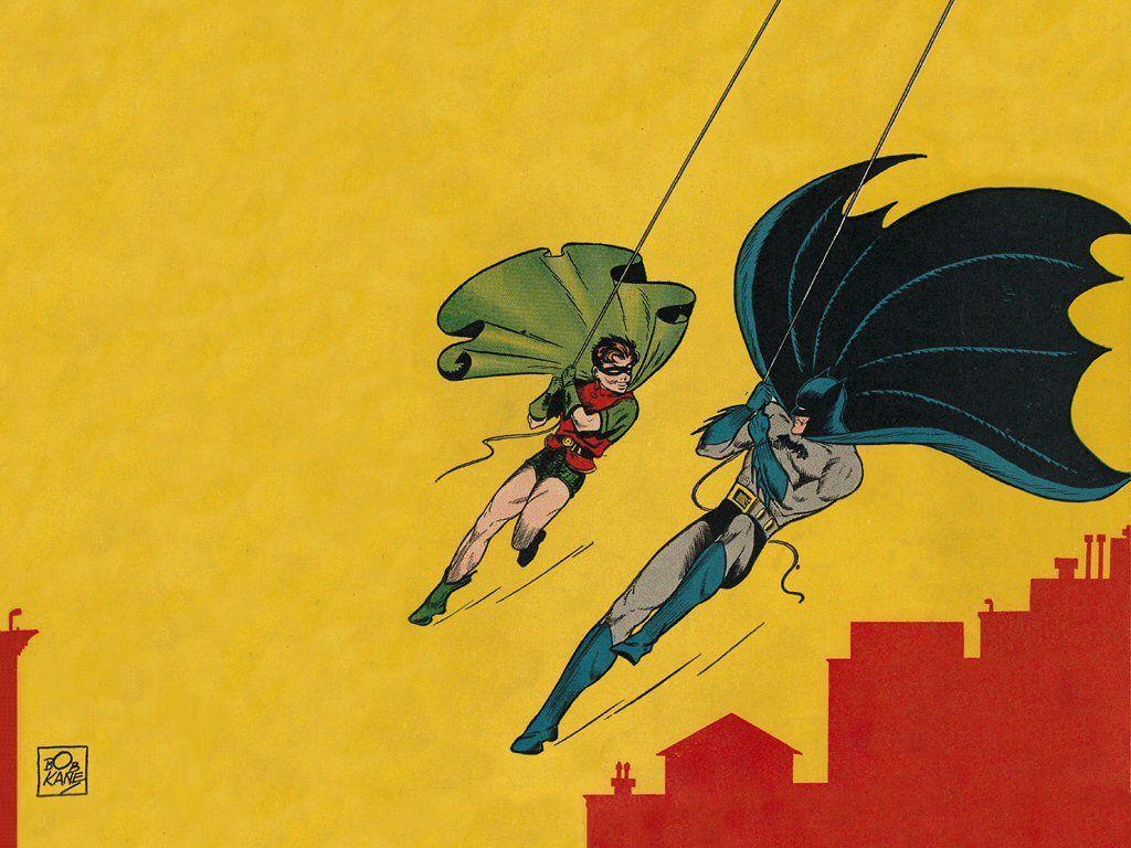 batman and robin swinging | Zoom Comics - Daily Comic Book Wallpapers