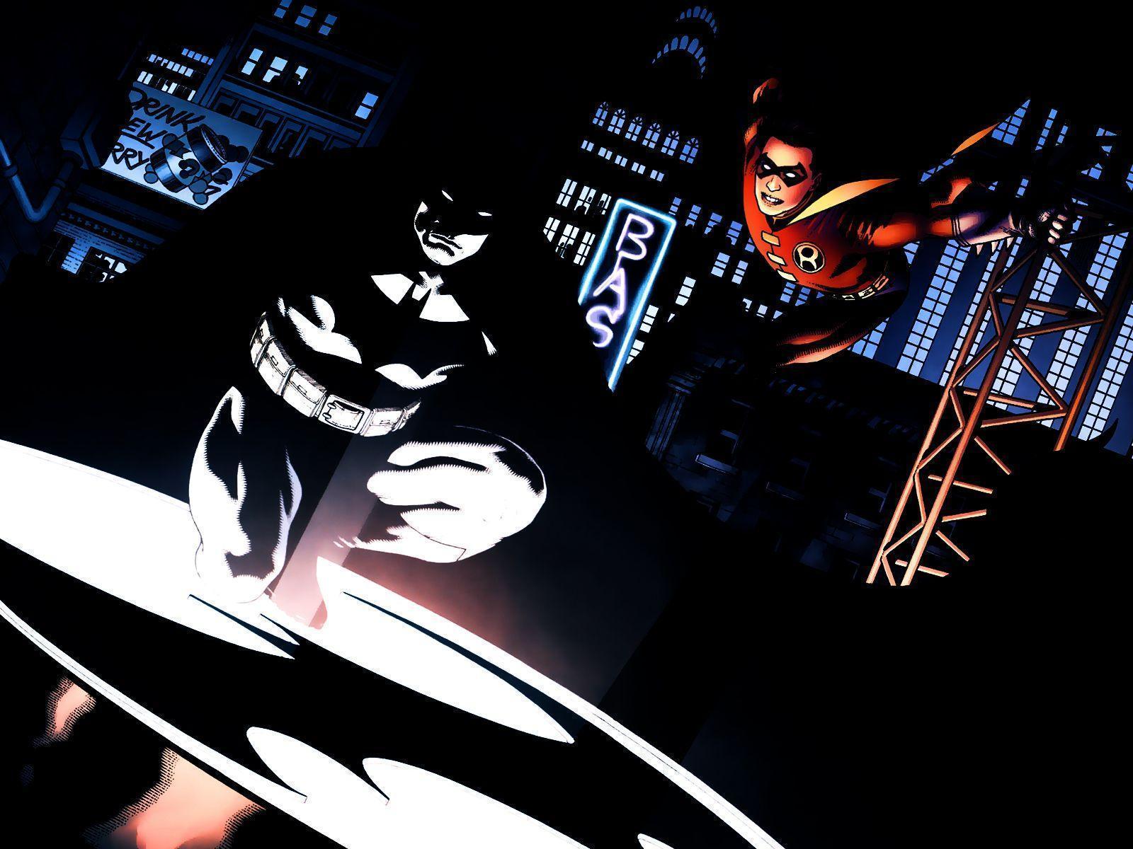 Batman & Robin Computer Wallpapers, Desktop Backgrounds ...