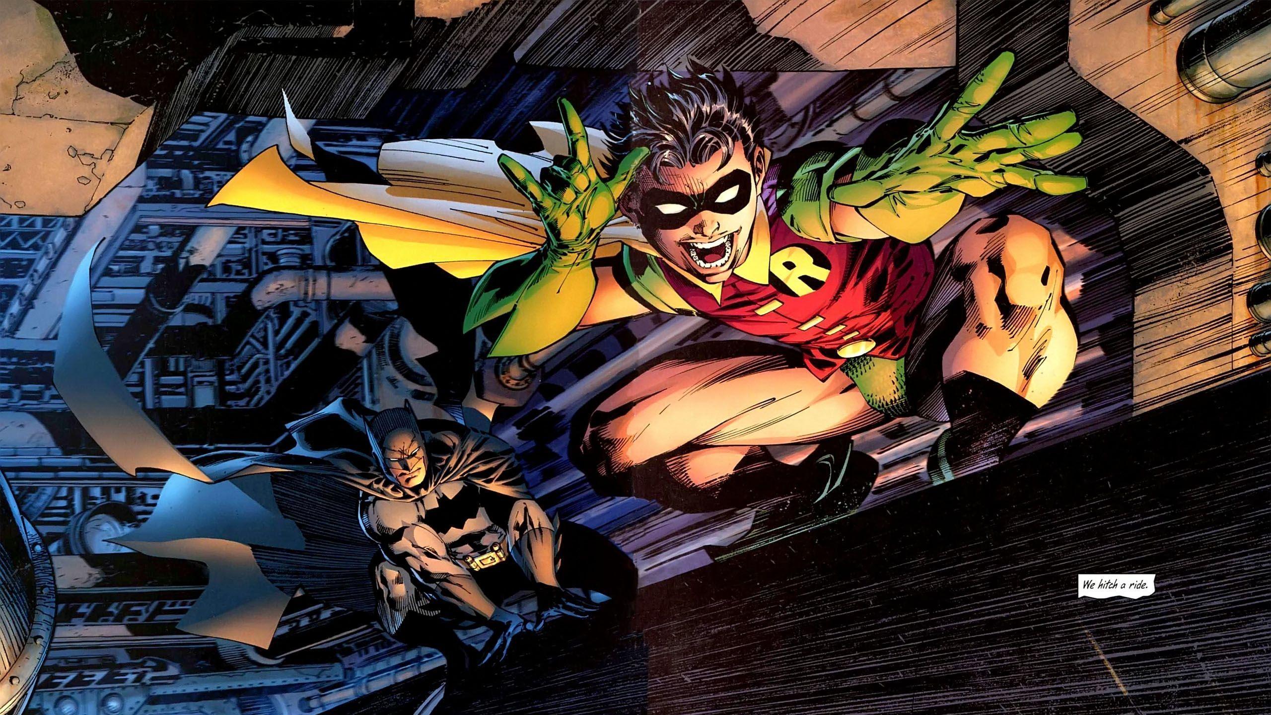 1 All-Star Batman & Robin HD Wallpapers | Backgrounds ...