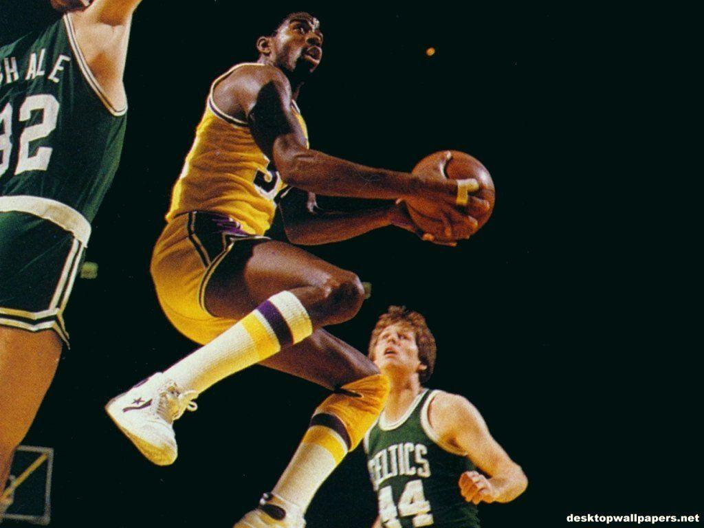 Magic Johnson at desktopWallpapers