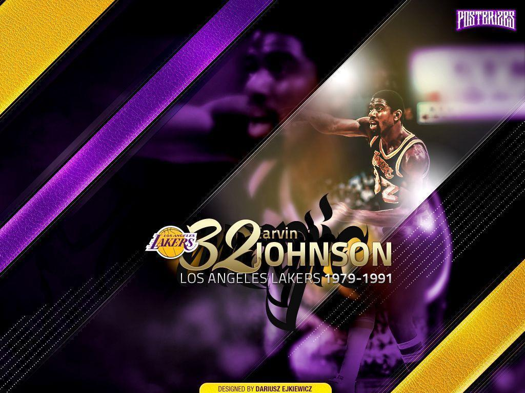 "Magic Johnson ""Legends"" Wallpapers"