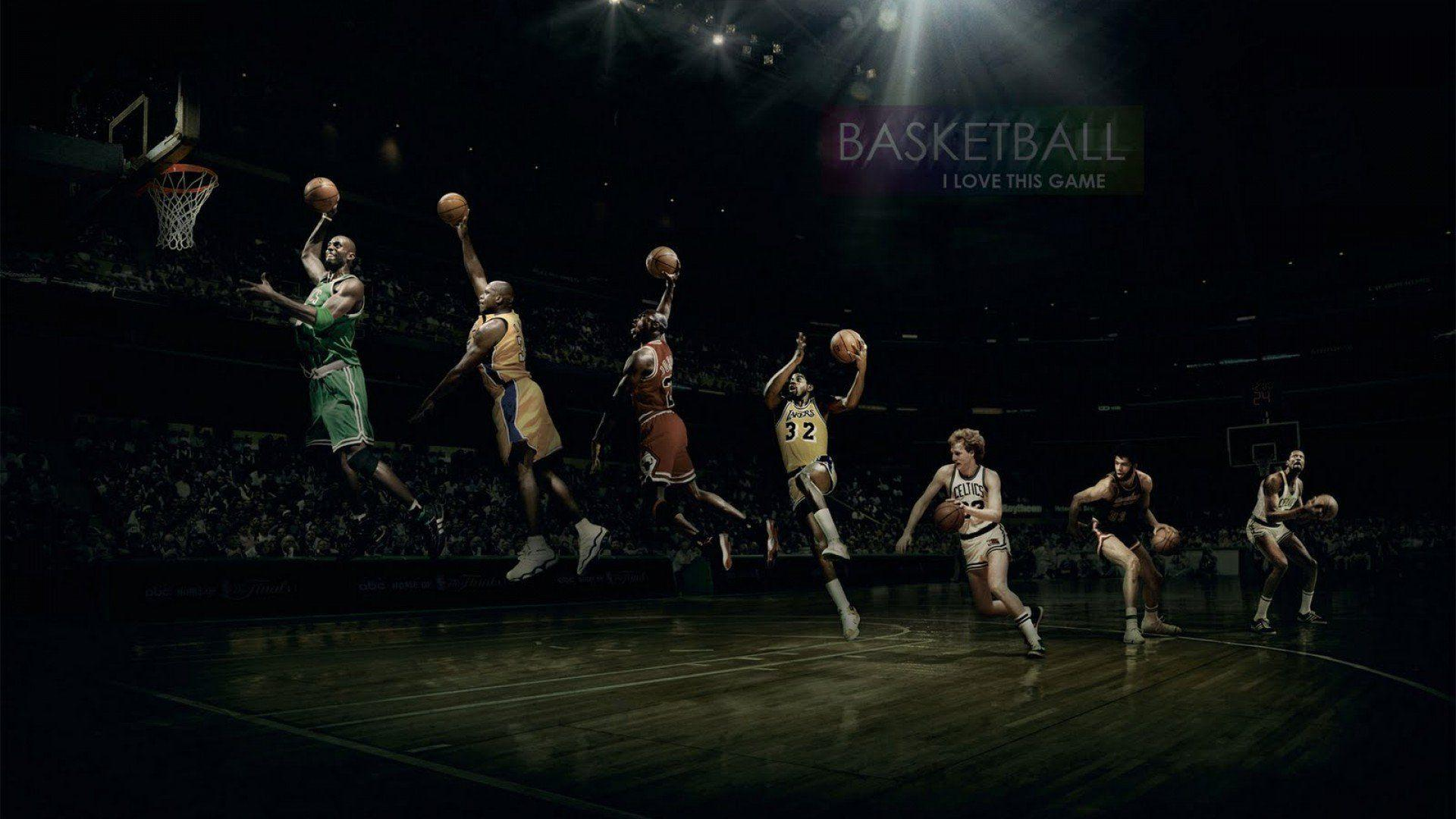 Magic Johnson Larry Bird Michael Jordan Wallpapers