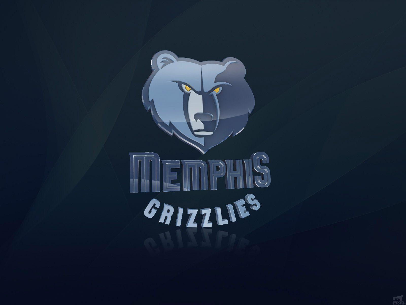 Memphis Grizzlies 3D Logo Wallpaper | Basketball Wallpapers at ...