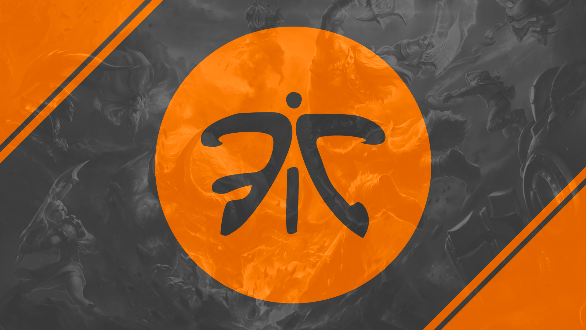 10 new Fnatic wallpapers created the last year : fnatic