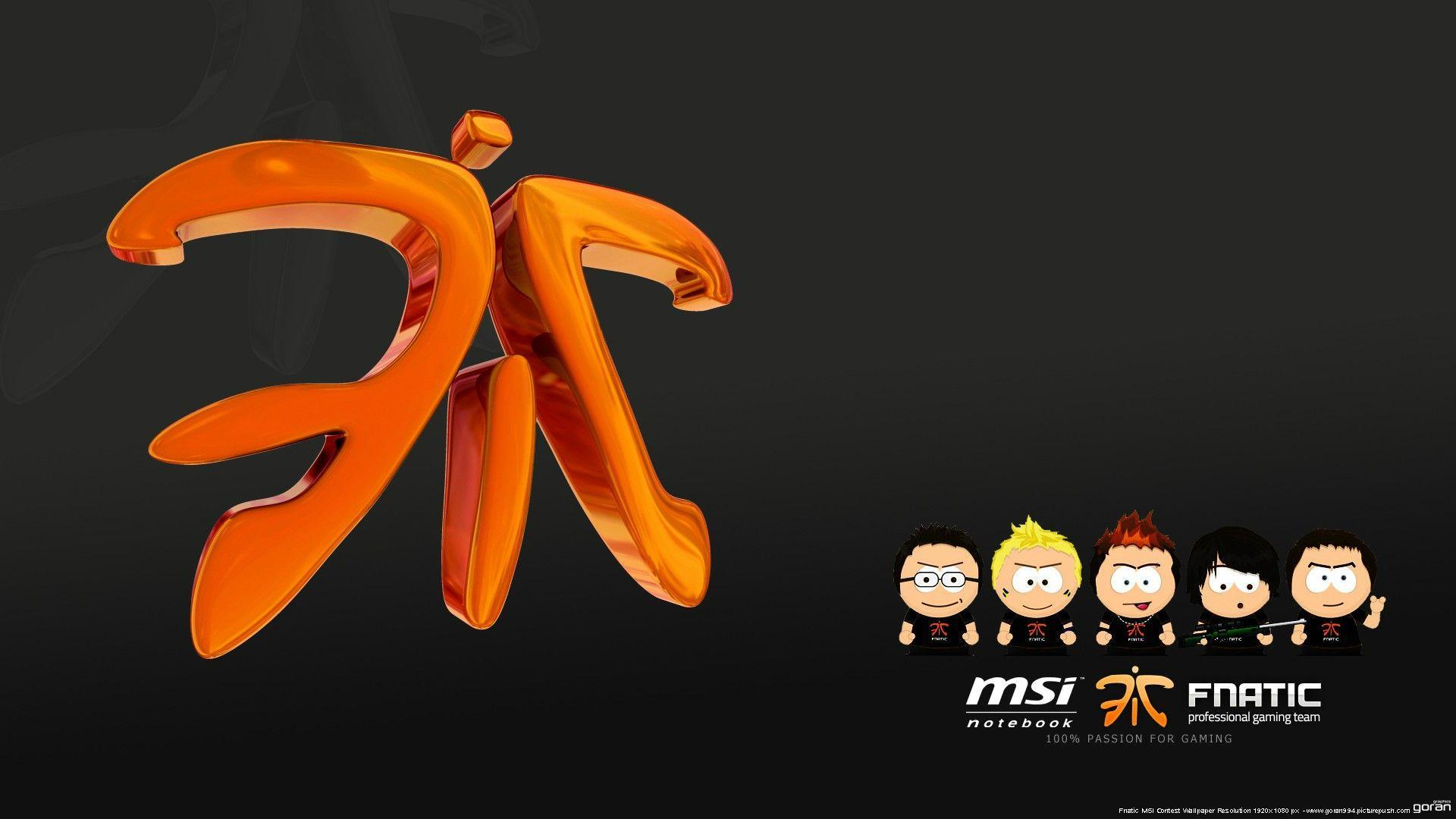 FNATIC: Winners of MSI Wallpapers Competition