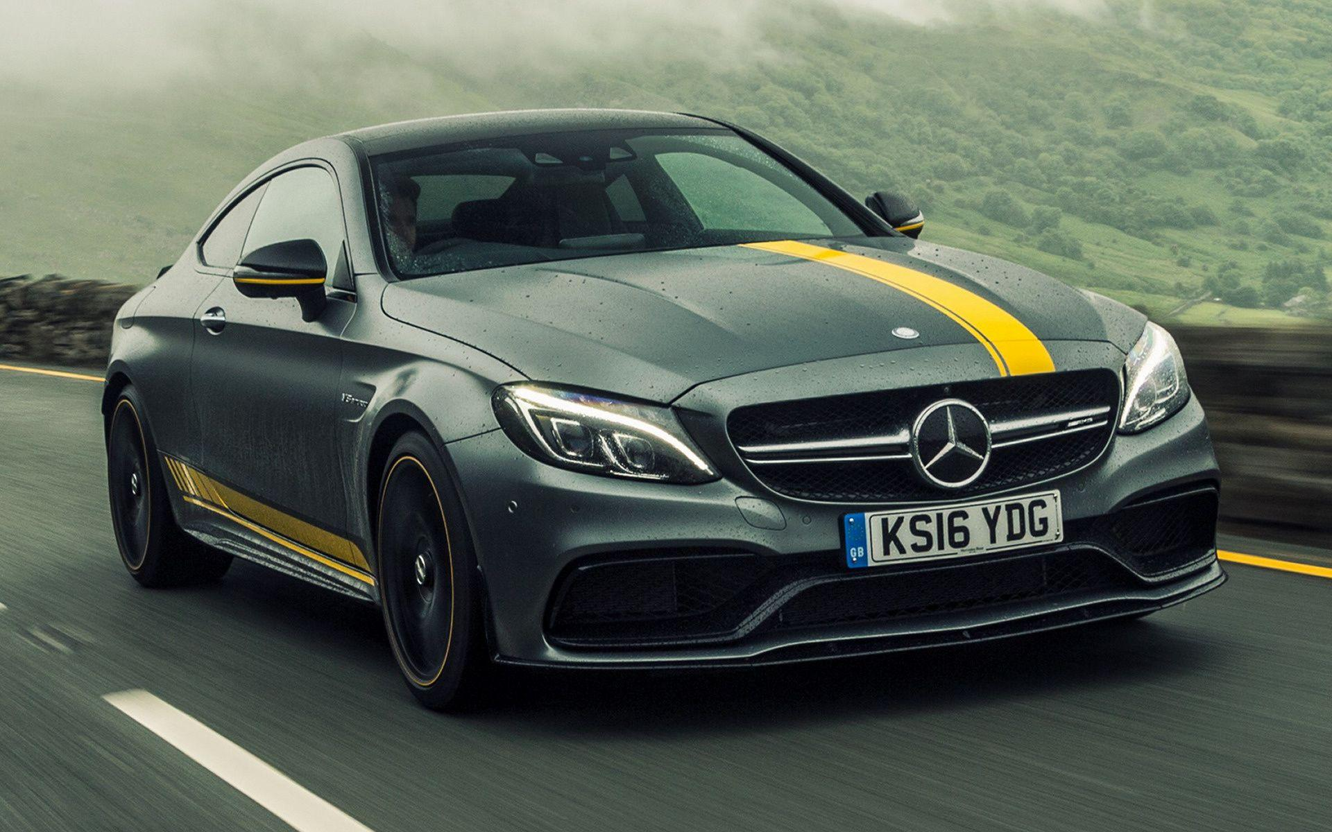 Mercedes-AMG C 63 S Coupe Edition 1 (2016) UK Wallpapers and HD