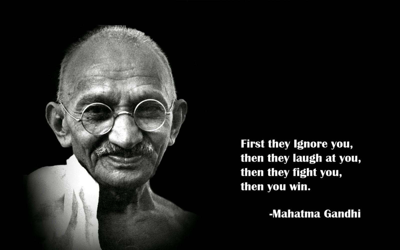 Махатма Гандхи: