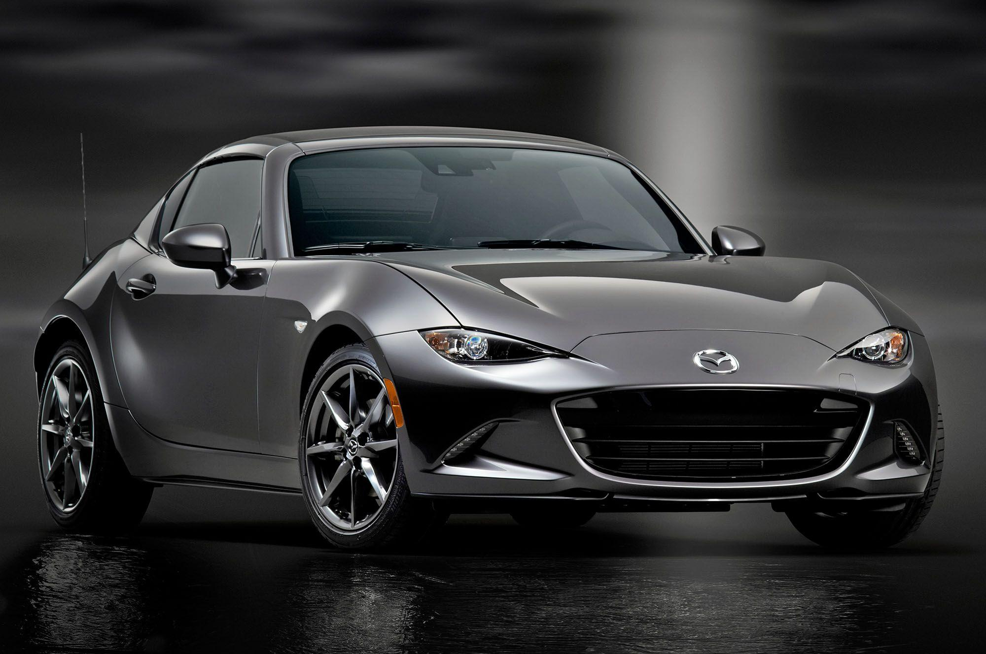 2017 Mazda MX-5 Miata RF Wallpaper | HD Car Wallpapers