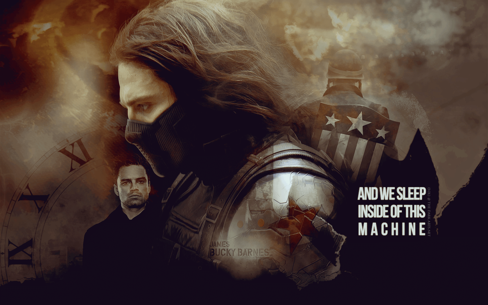 Bucky Barnes Wallpaper...