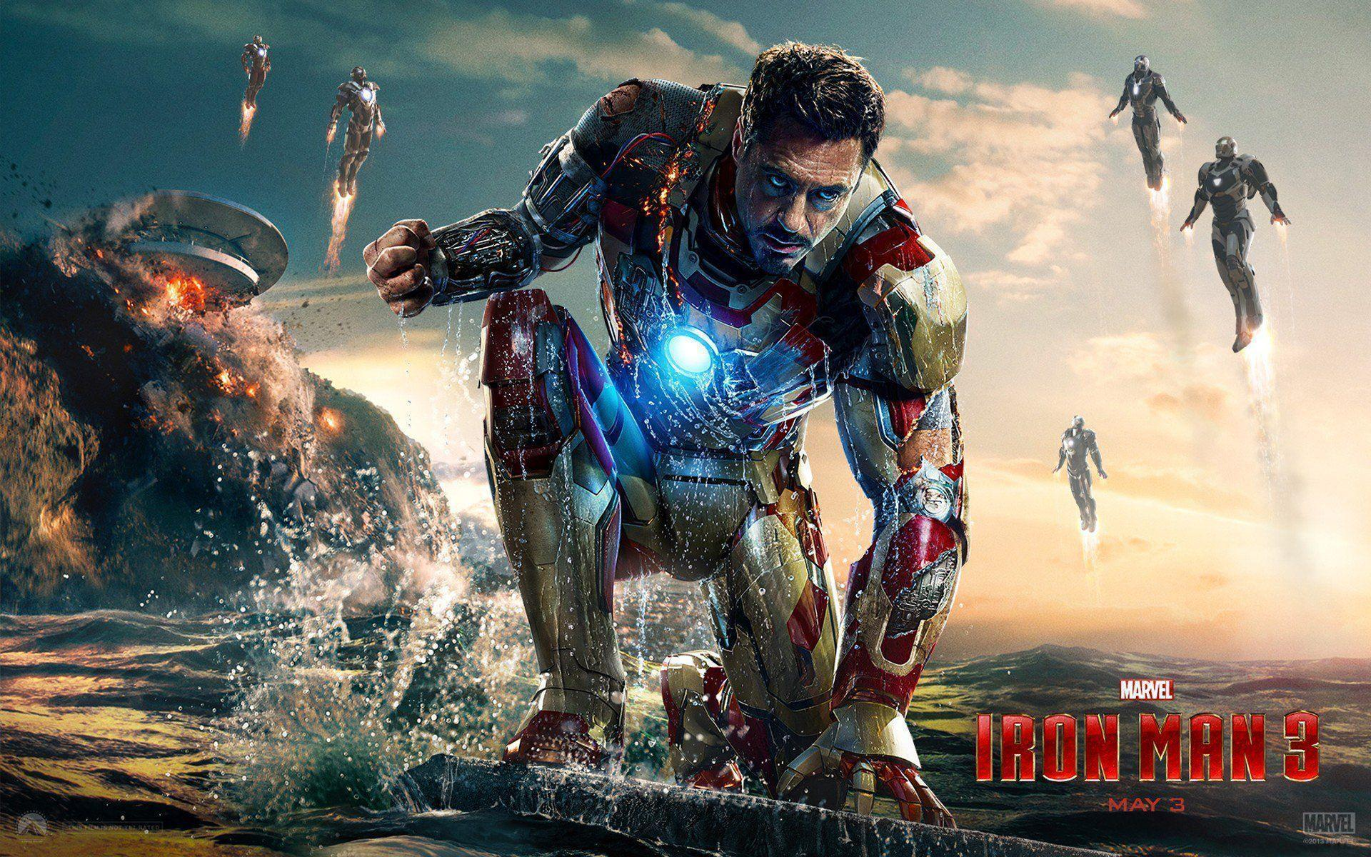 122 Iron Man 3 HD Wallpapers