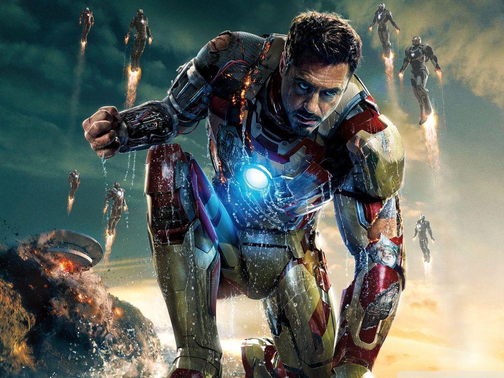 Iron Man 3 2013 Film HD Desktop Wallpaper Widescreen High