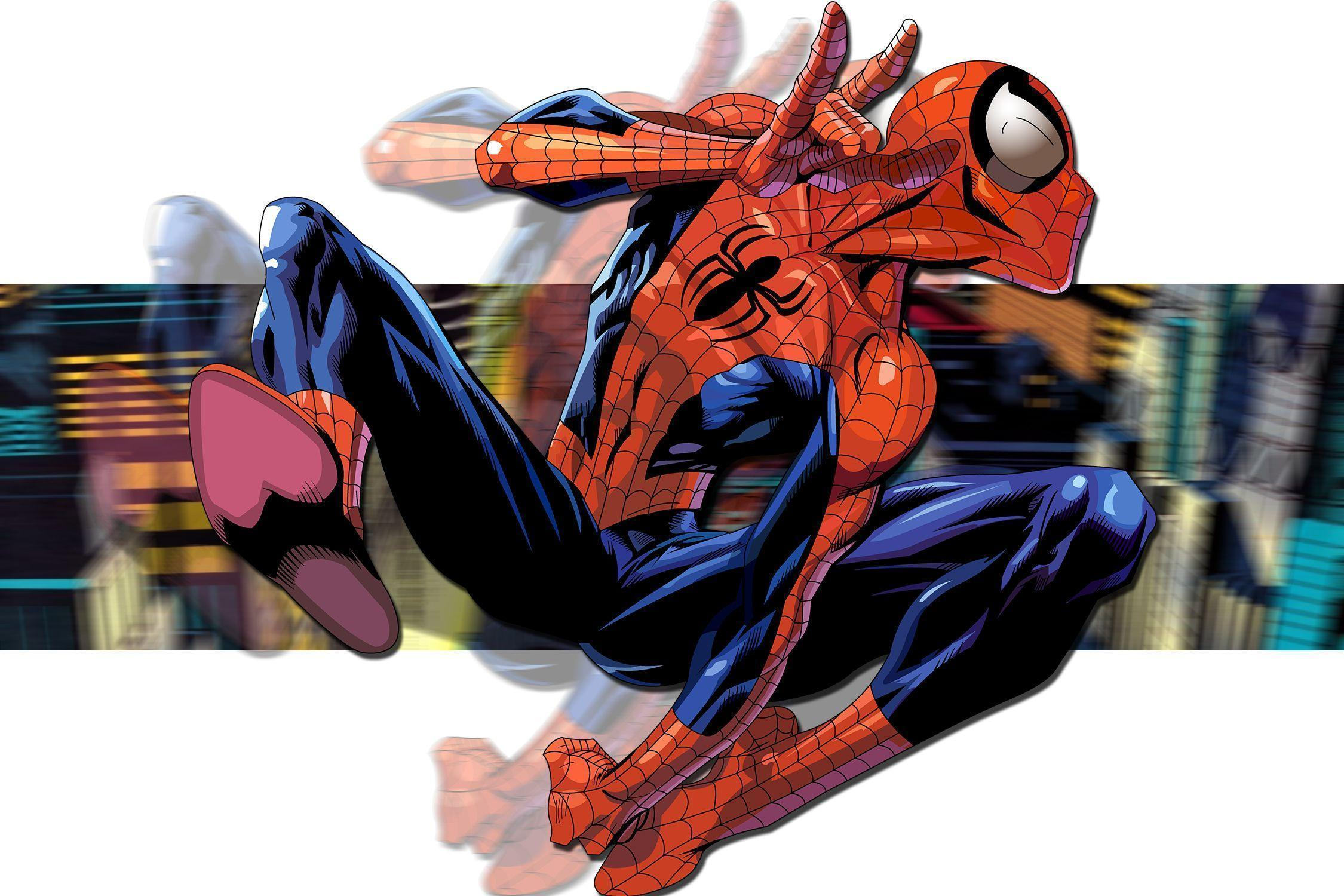 Ultimate Spider Man iPhone Wallpaper - WallpaperSafari