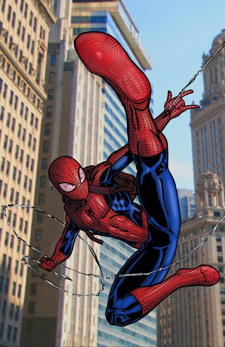 Ultimate Spiderman Cartoon Wallpaper – images free download