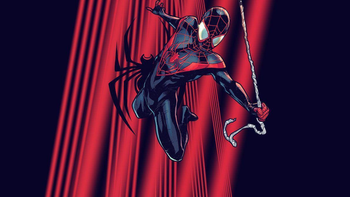 Ultimate Spider-Man: Miles (Variant) | Wallpaper by Squiddytron on ...