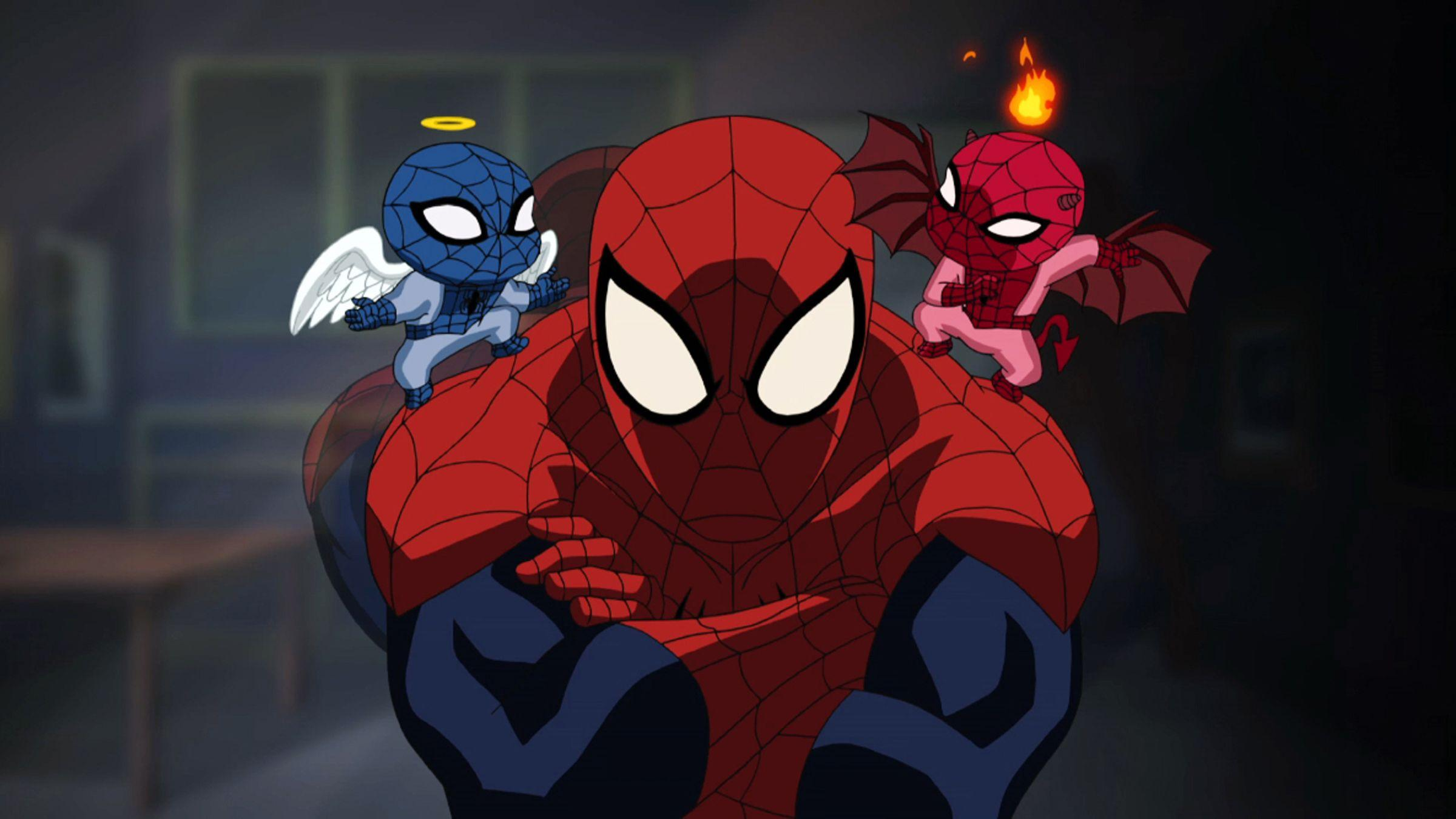 2400x1350px Ultimate Spider Man 965.7 KB #354281