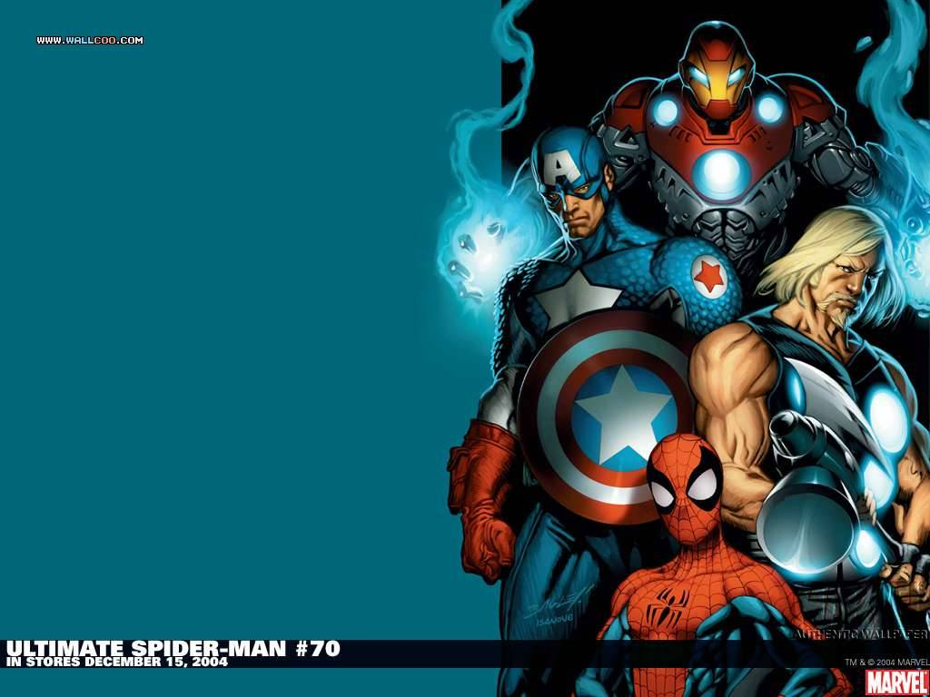 Ultimate Spider-Man #70 Marvel Comics Wallpaper - Marvel Wallpaper