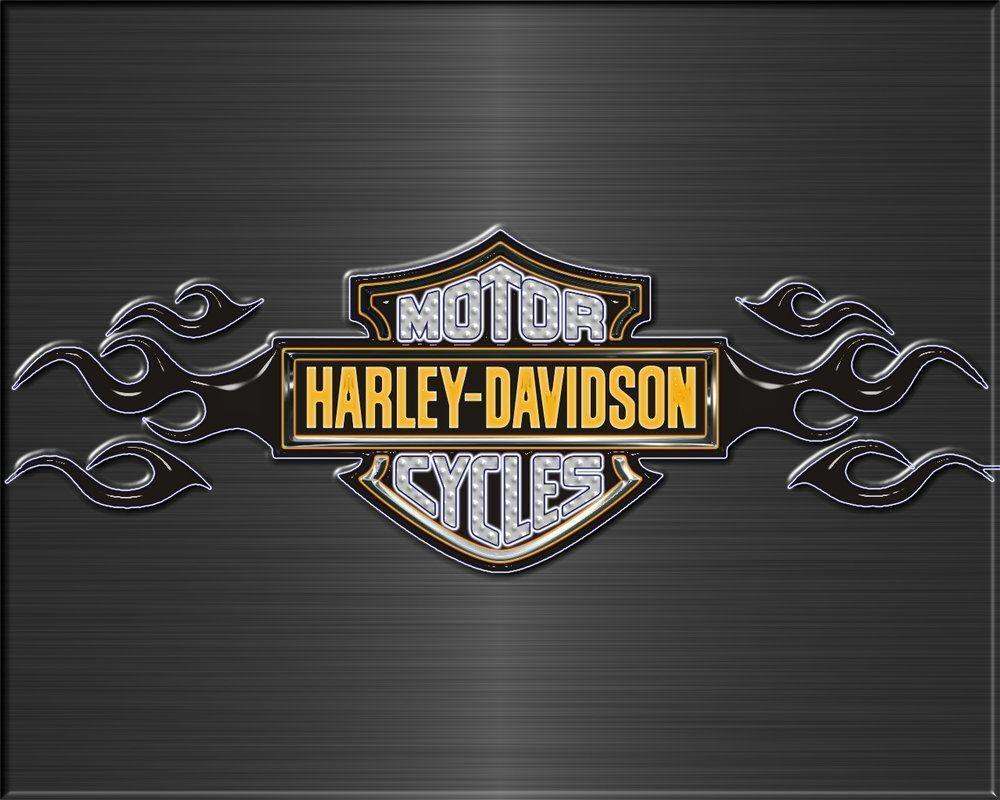 Harley Davidson Logo Wallpaper | Downloads | projects for ...