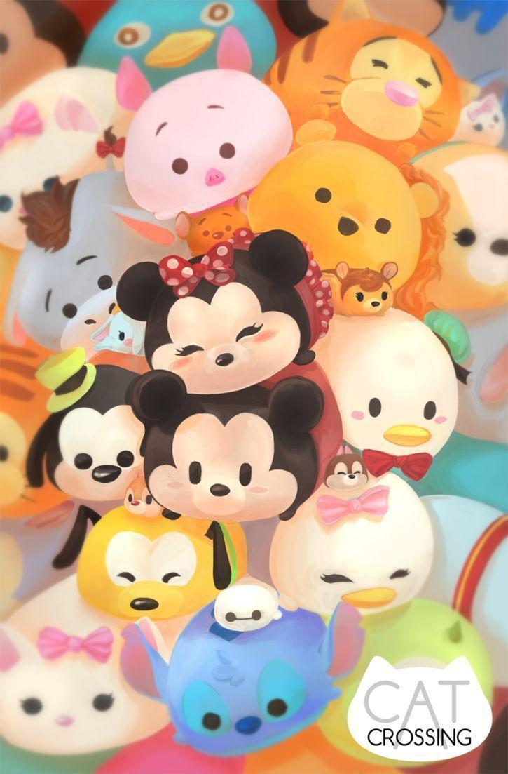 Tsum Tsum Wallpapers Wallpaper Cave
