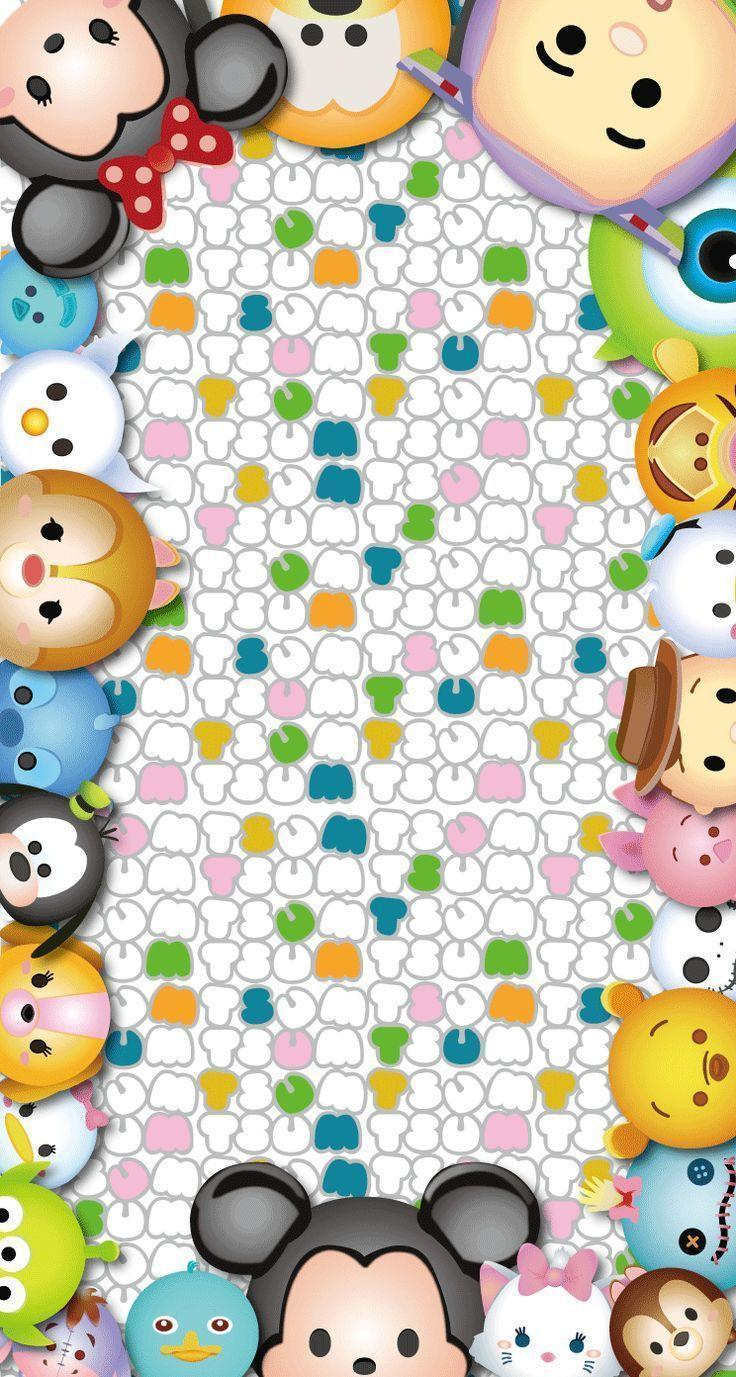 Tsum Tsum Wallpapers - Wallpaper Cave