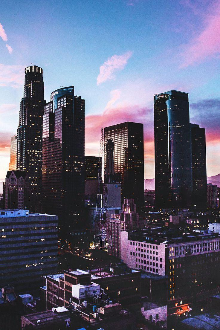 Los Angeles City View iPhone 6 Plus HD Wallpaper HD - Free ... |Los Angeles City Phone Wallpaper