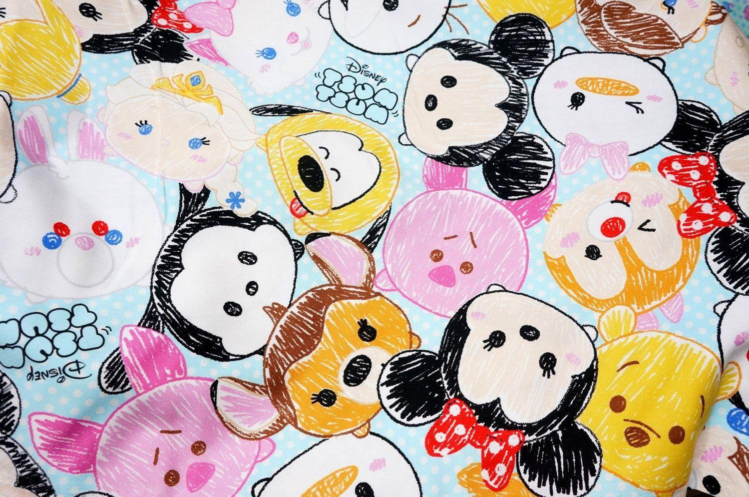 Disney licensed fabric Special offer Disney Character Disney