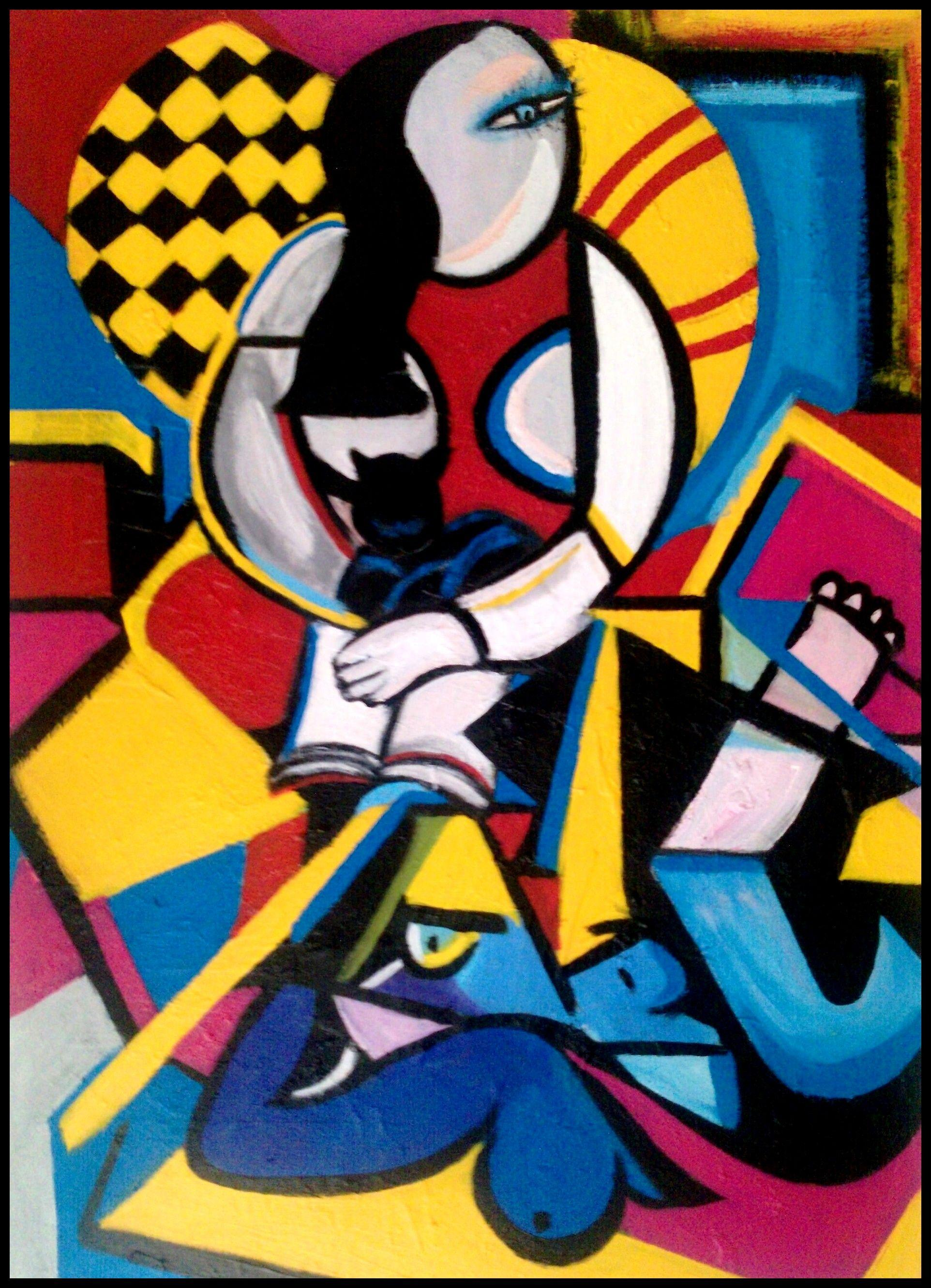 Abstract Art By Pablo Picasso - wallpaper.