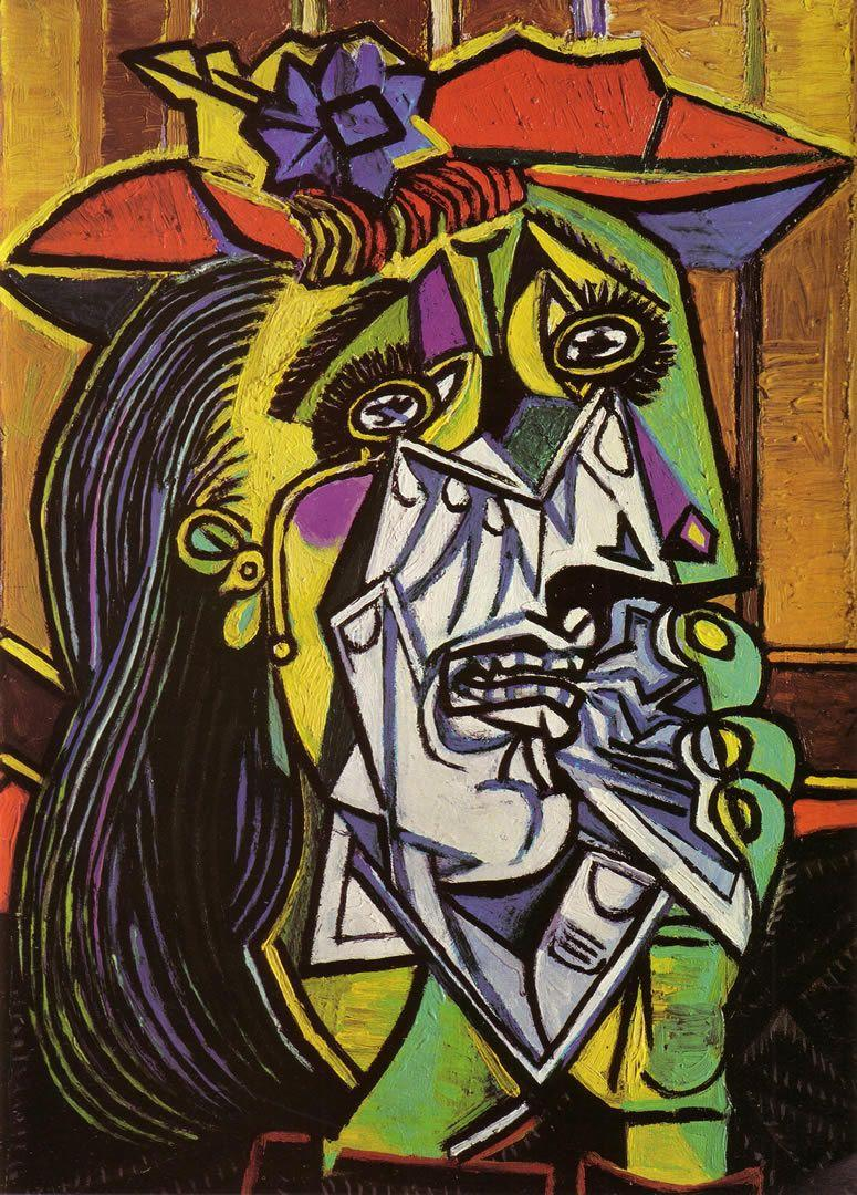 Weeping Woman 1937 - Pablo Picasso Wallpaper Image