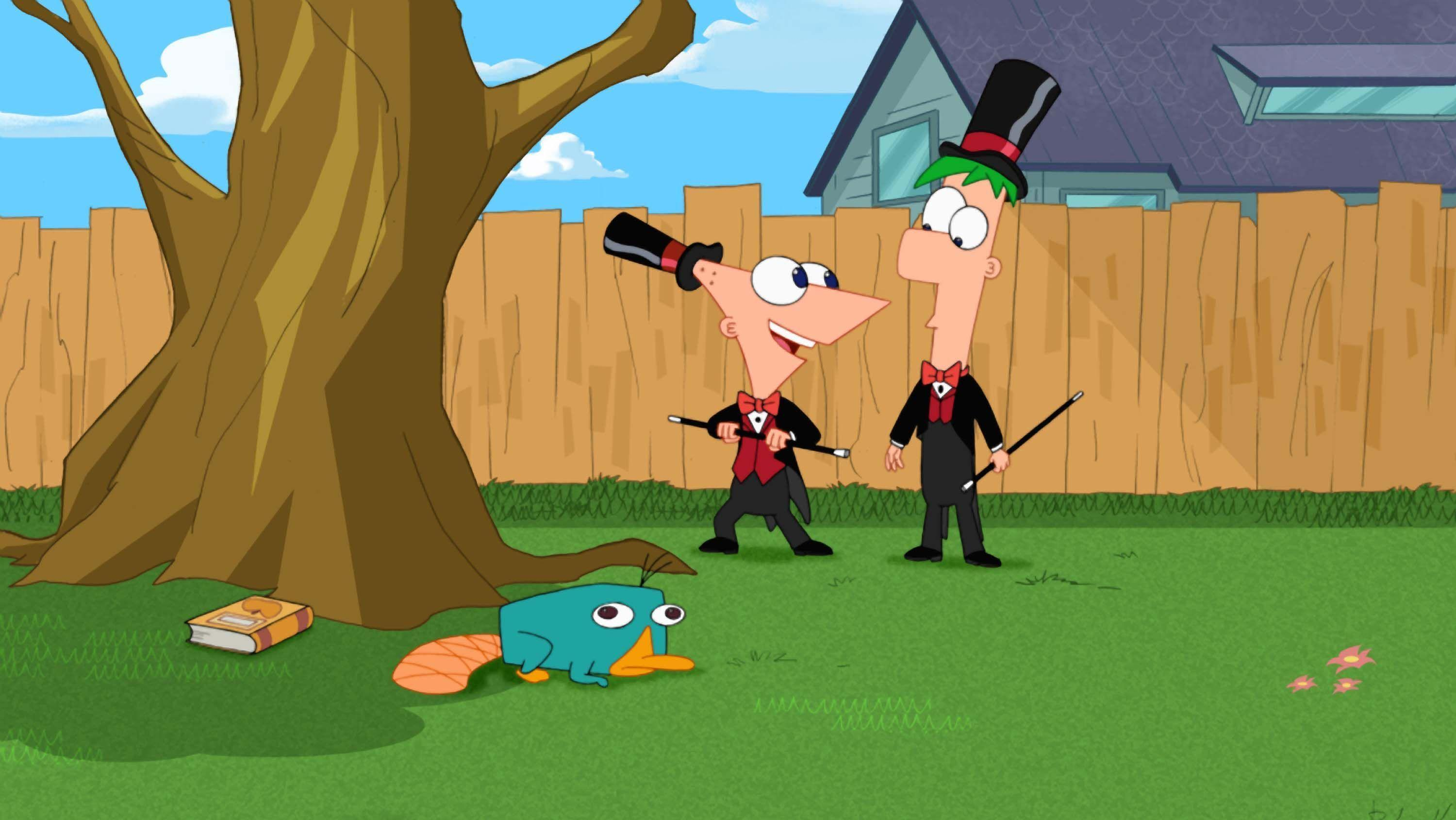 phineas and ferb wallpapers HD