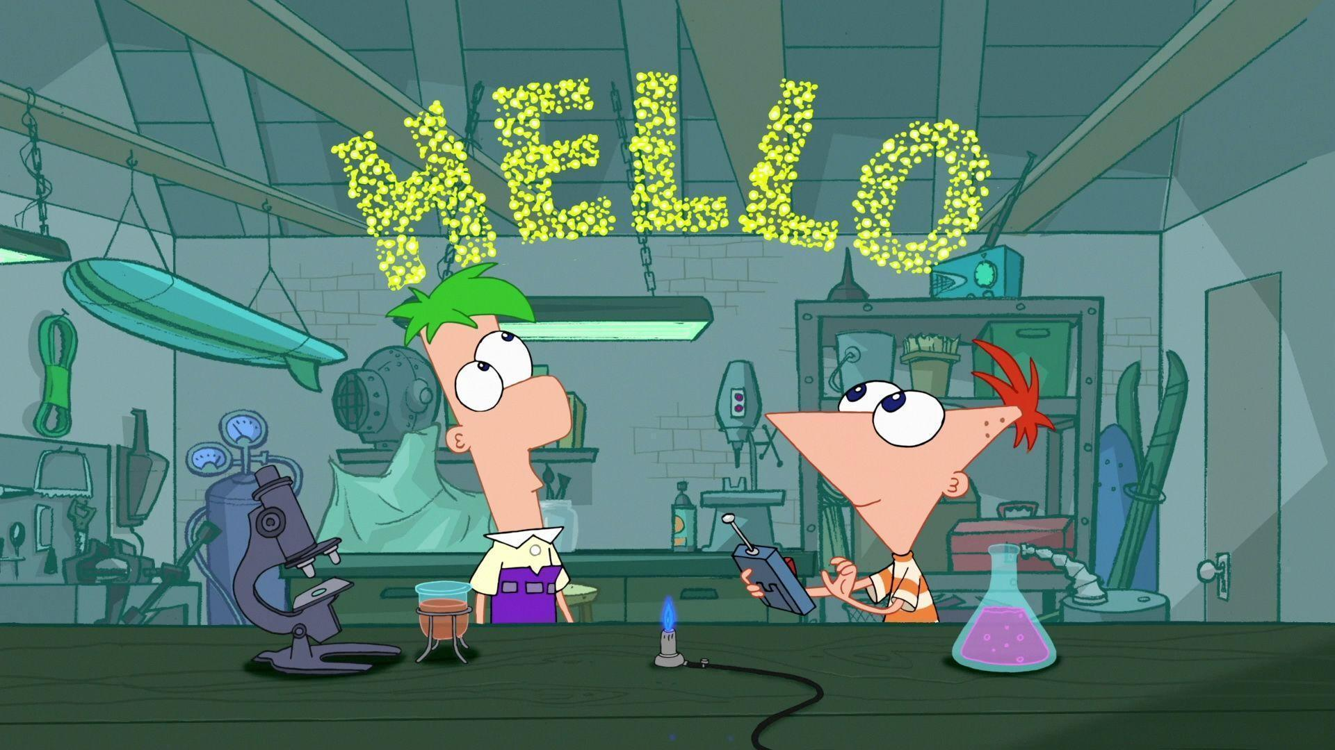 Phineas and Ferb HD Wallpapers