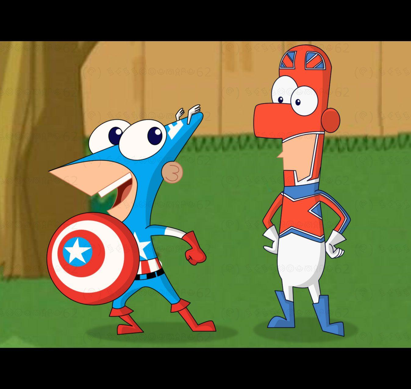 Phineas And Ferb | Phineas and Ferb Marvel Superheroes - Phineas ...