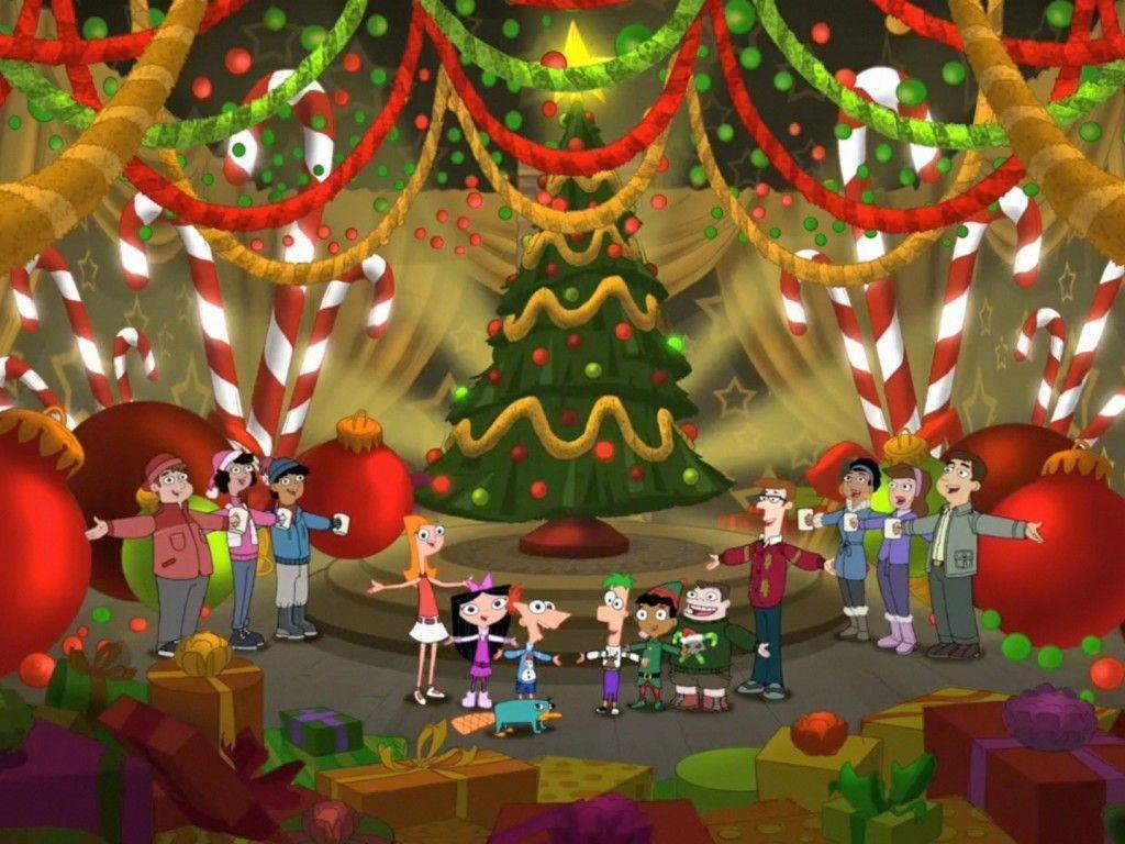 Phineas and Ferb Christmas Wallpapers