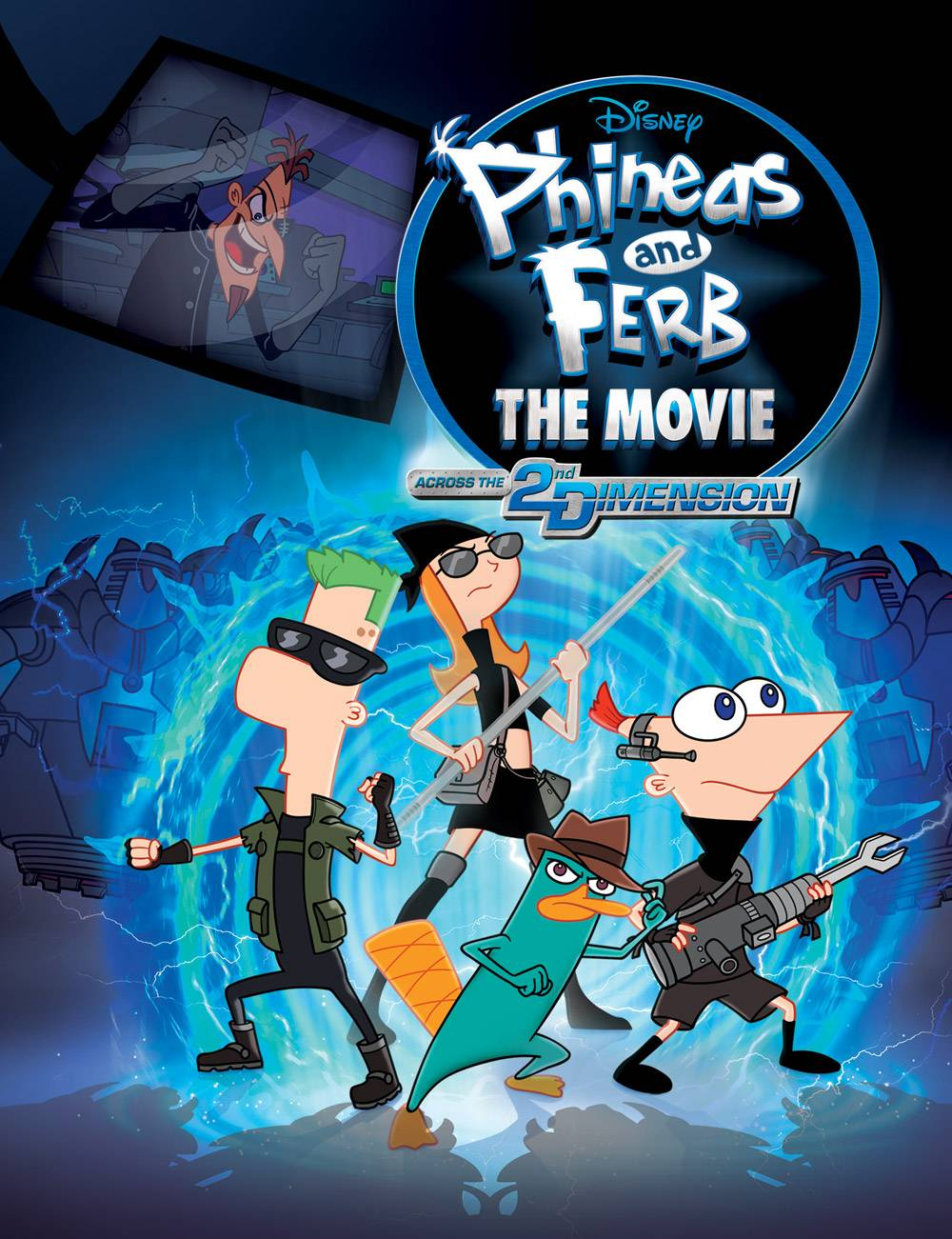 Phineas and Ferb the Movie Wallpapers