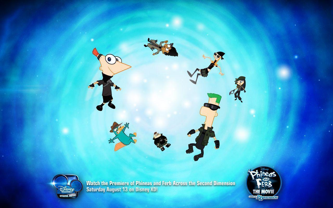 Image - 1280x800 5Dwallpaper XD.jpg | Phineas and Ferb Wiki ...