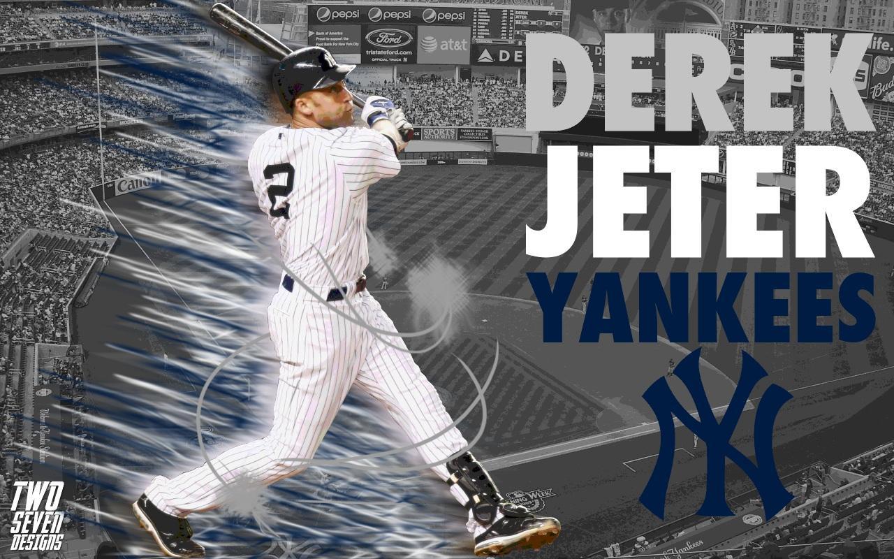 1024x768px Derek Jeter Wallpaper New York Yankees