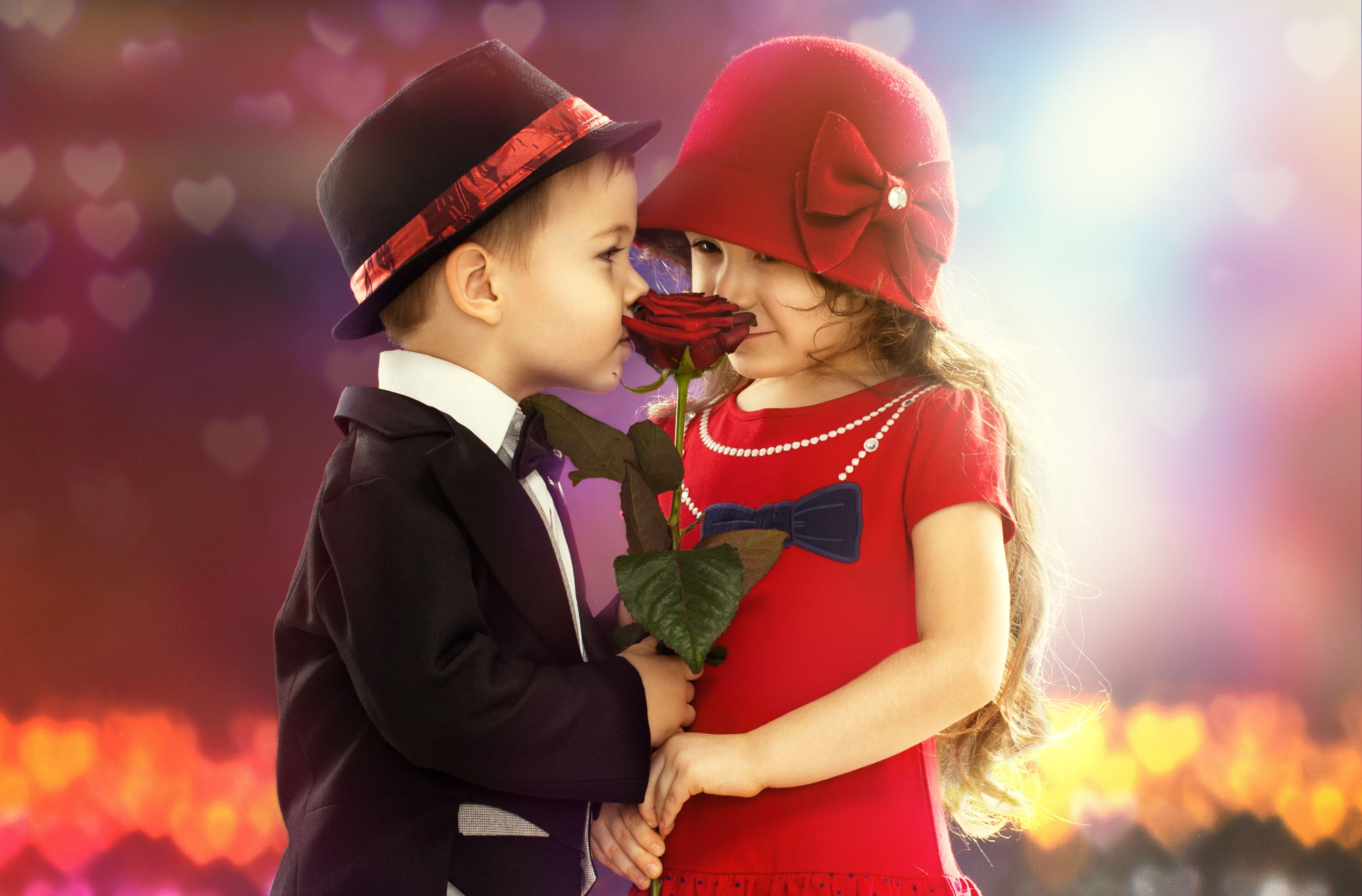 Boy and girl wallpapers wallpaper cave - Boy with rose wallpaper ...
