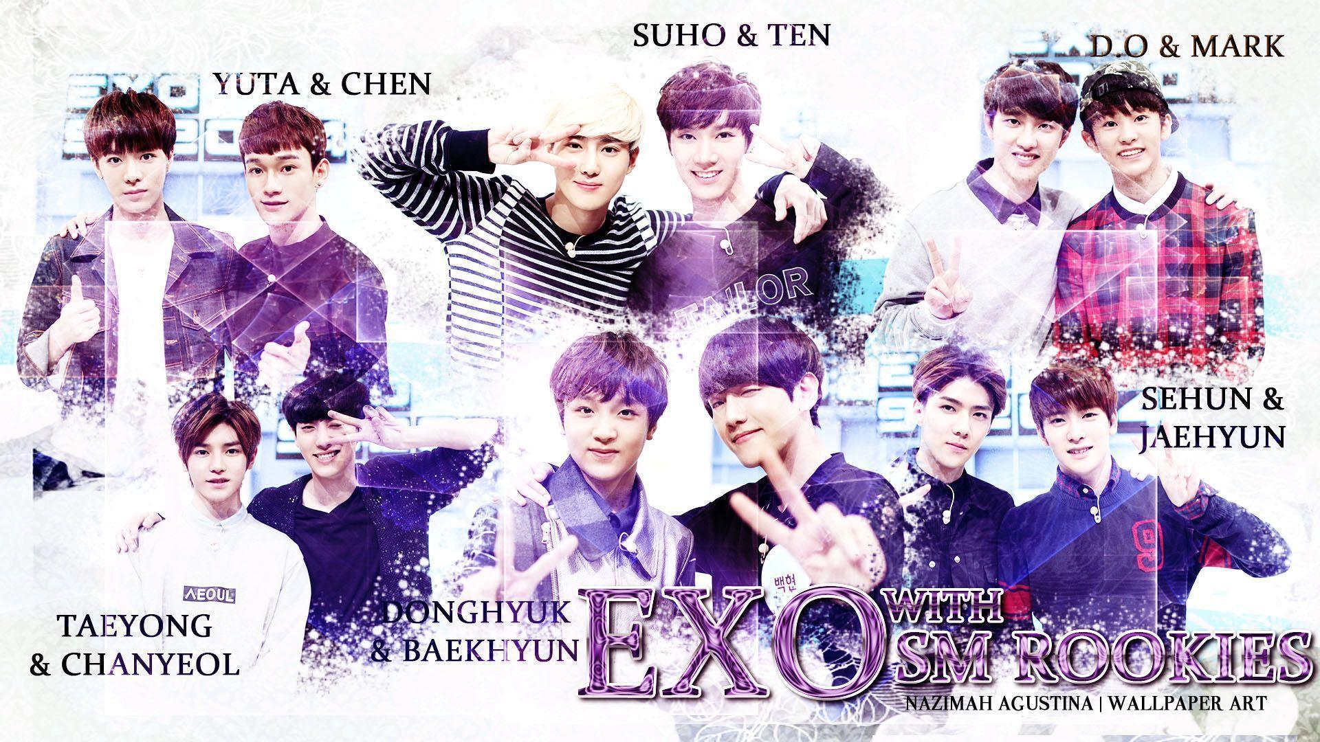 Exo kai wallpaper desktop