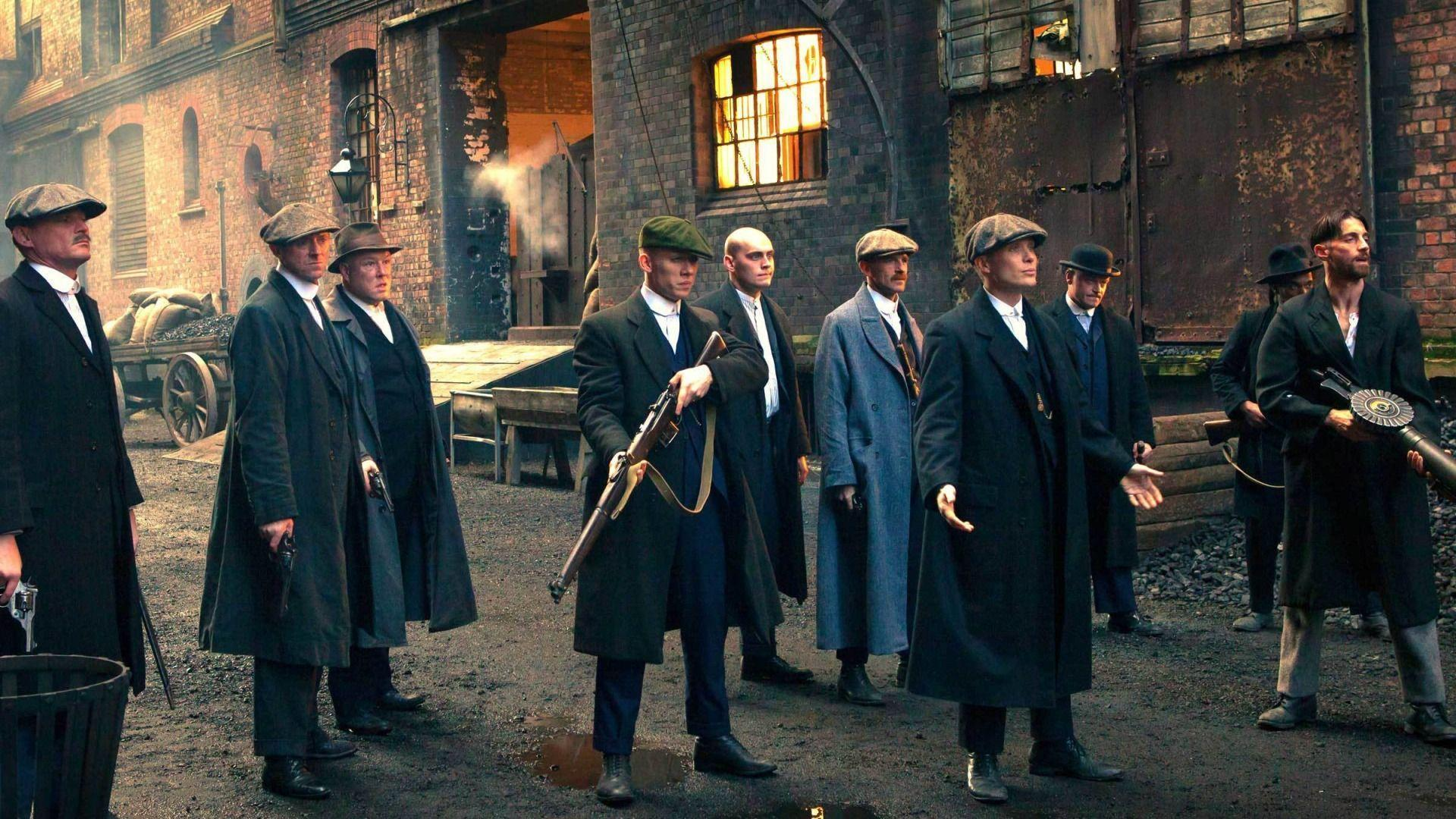 Download Wallpapers weapons, the series, gang, BBC, Peaky blinders